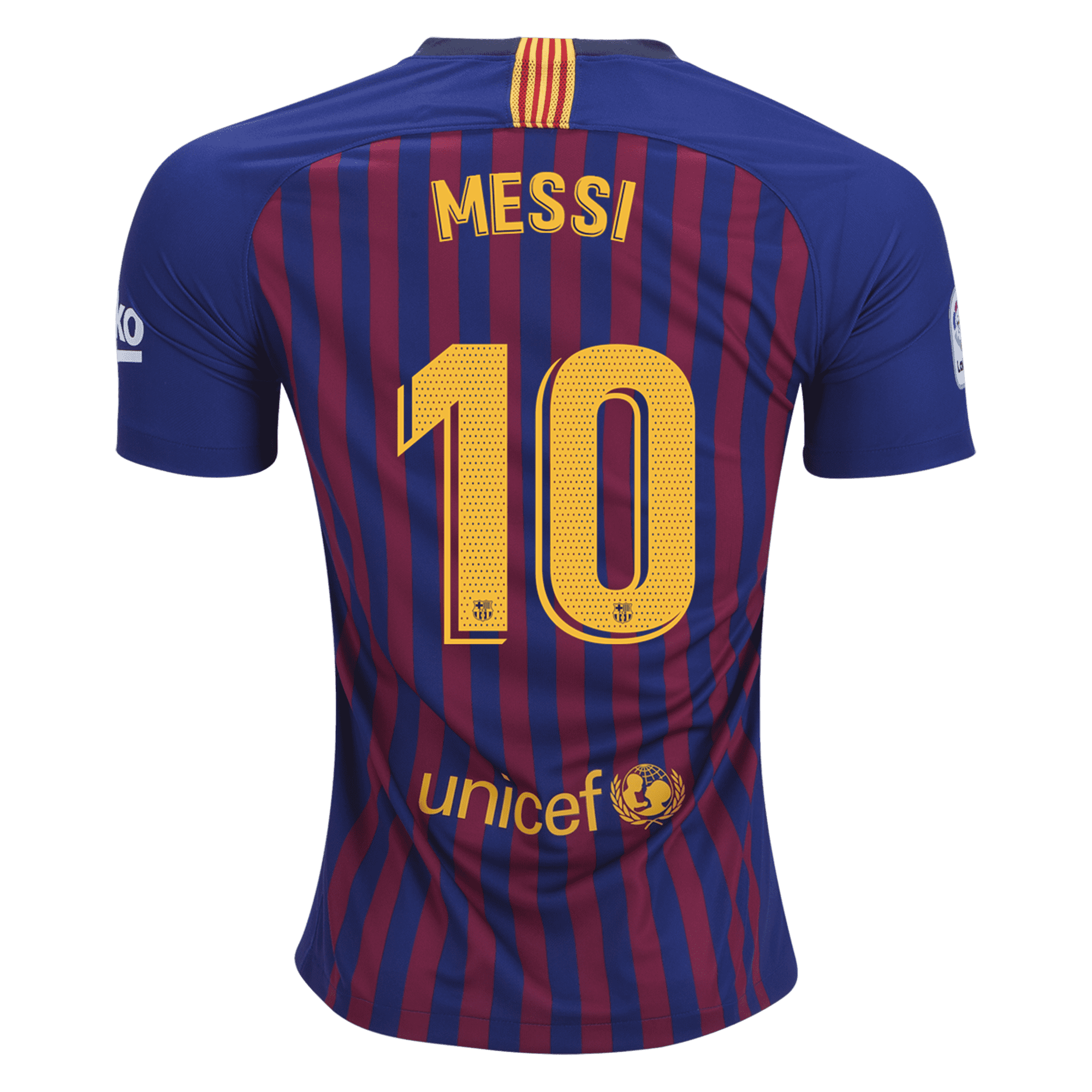 2b7e8908ca9 Nike Lionel Messi FC Barcelona Youth Home Jersey 18/19