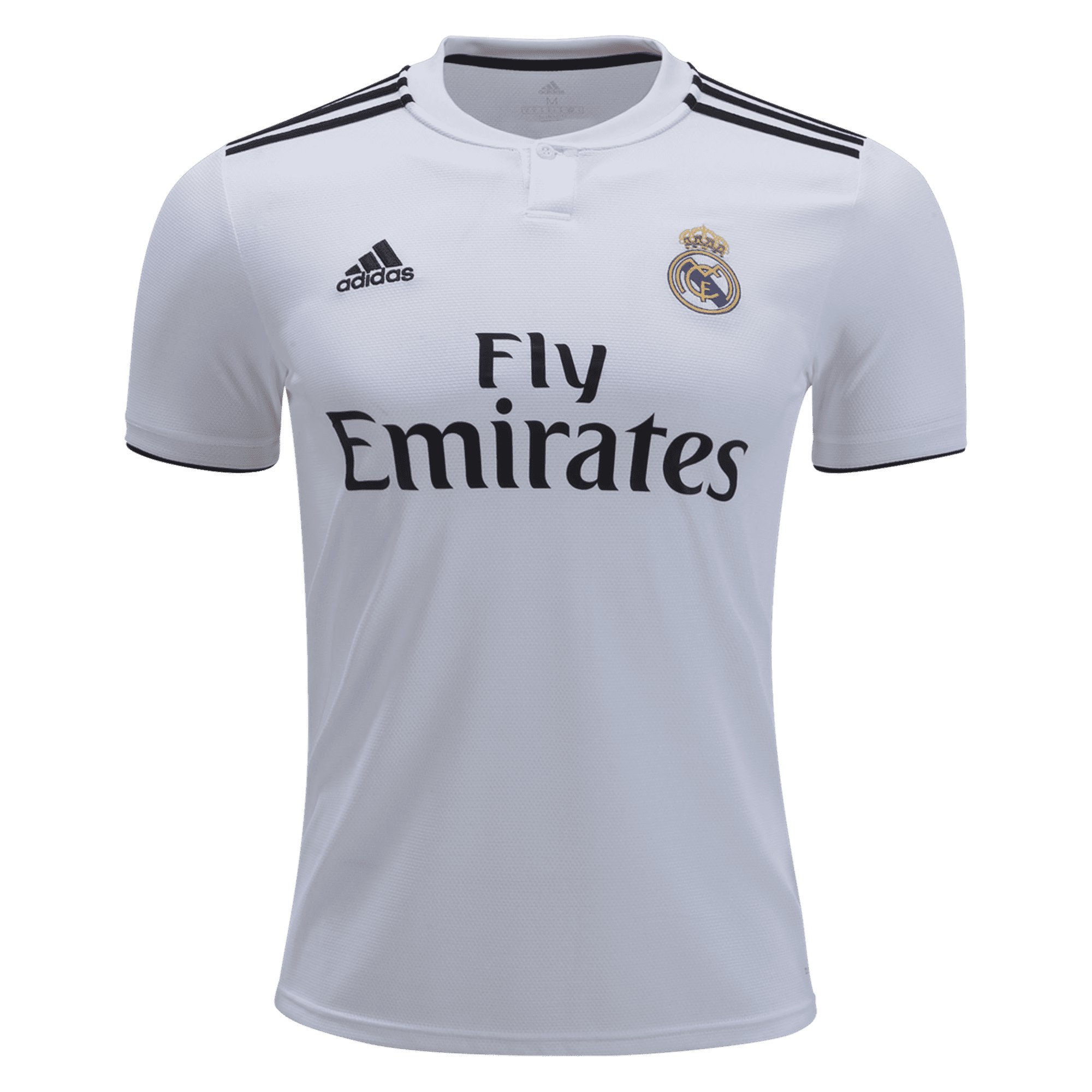 adidas Real Madrid Youth Home Jersey 18/19