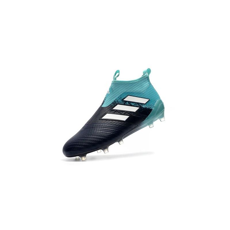 Fusión ornamento Inconcebible  botas-de-fútbol-adidas-ace-17-pure-control-fg-negro-azul – Mad About Soccer