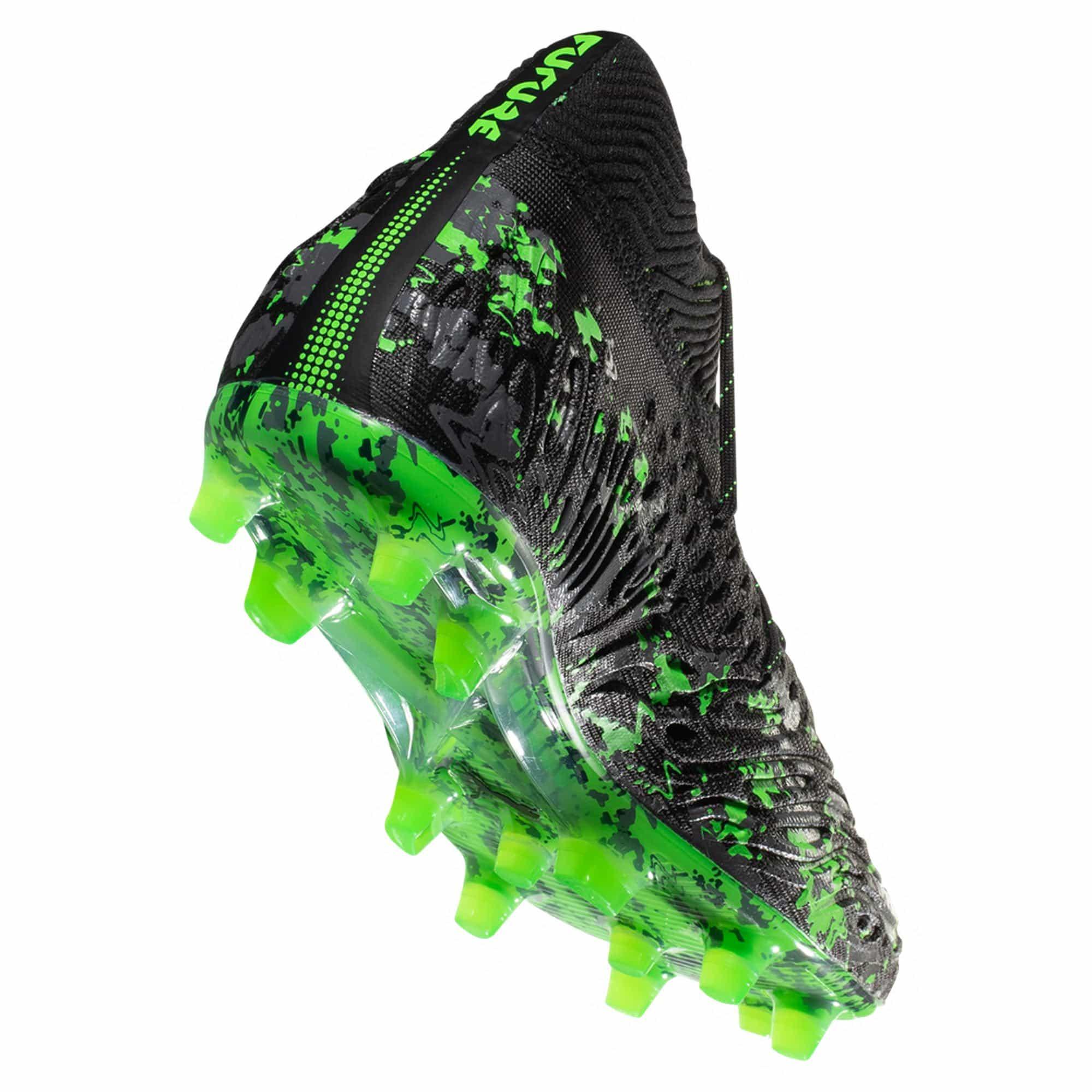 e53c7bb06 Home   Brand   Puma   PUMA FUTURE 19.1 FG AG Firm Ground Soccer Cleat –  Black   Charcoal   Green