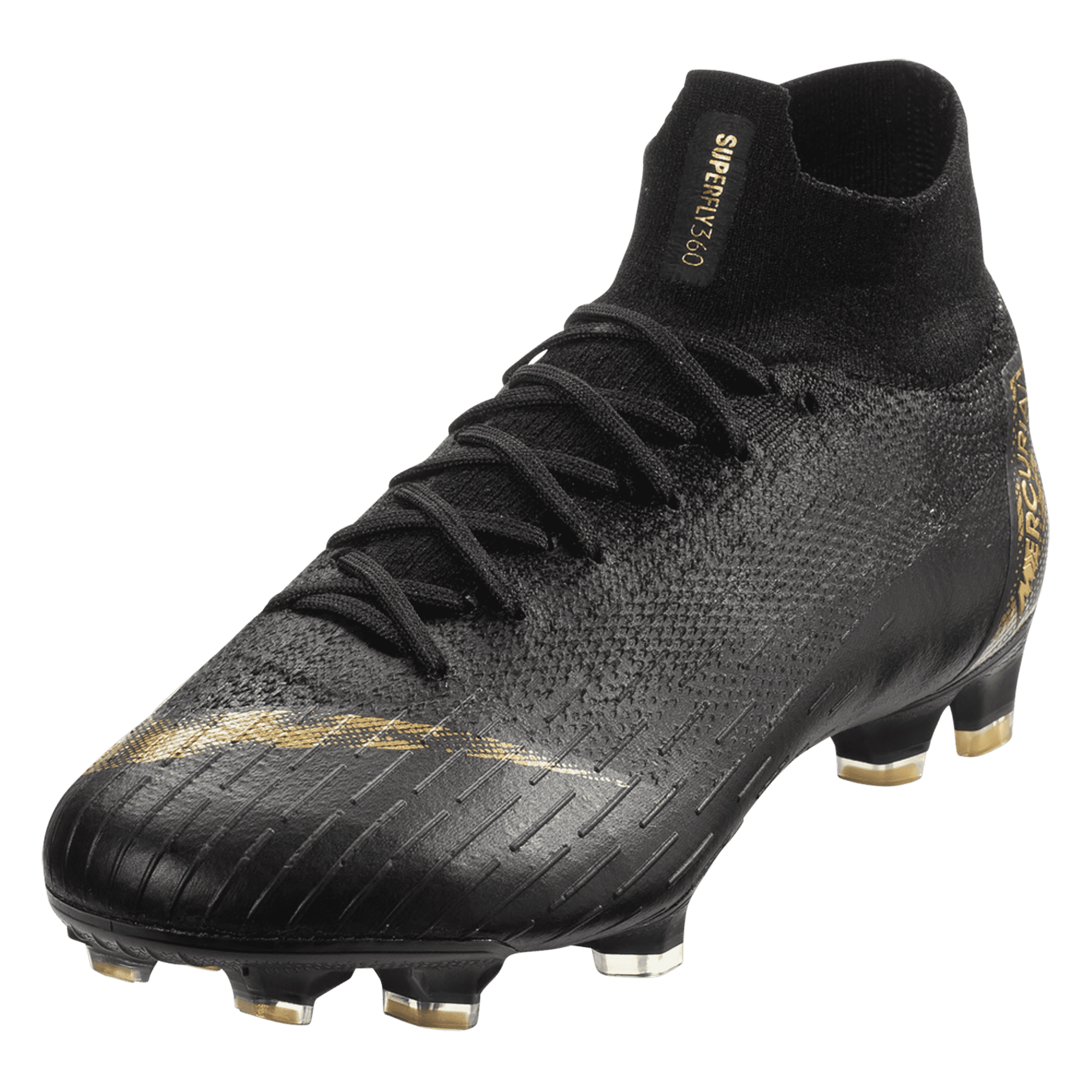 0621e5ee92e Nike Mercurial Superfly VI Elite FG Soccer Cleat – Black Metallic Gold