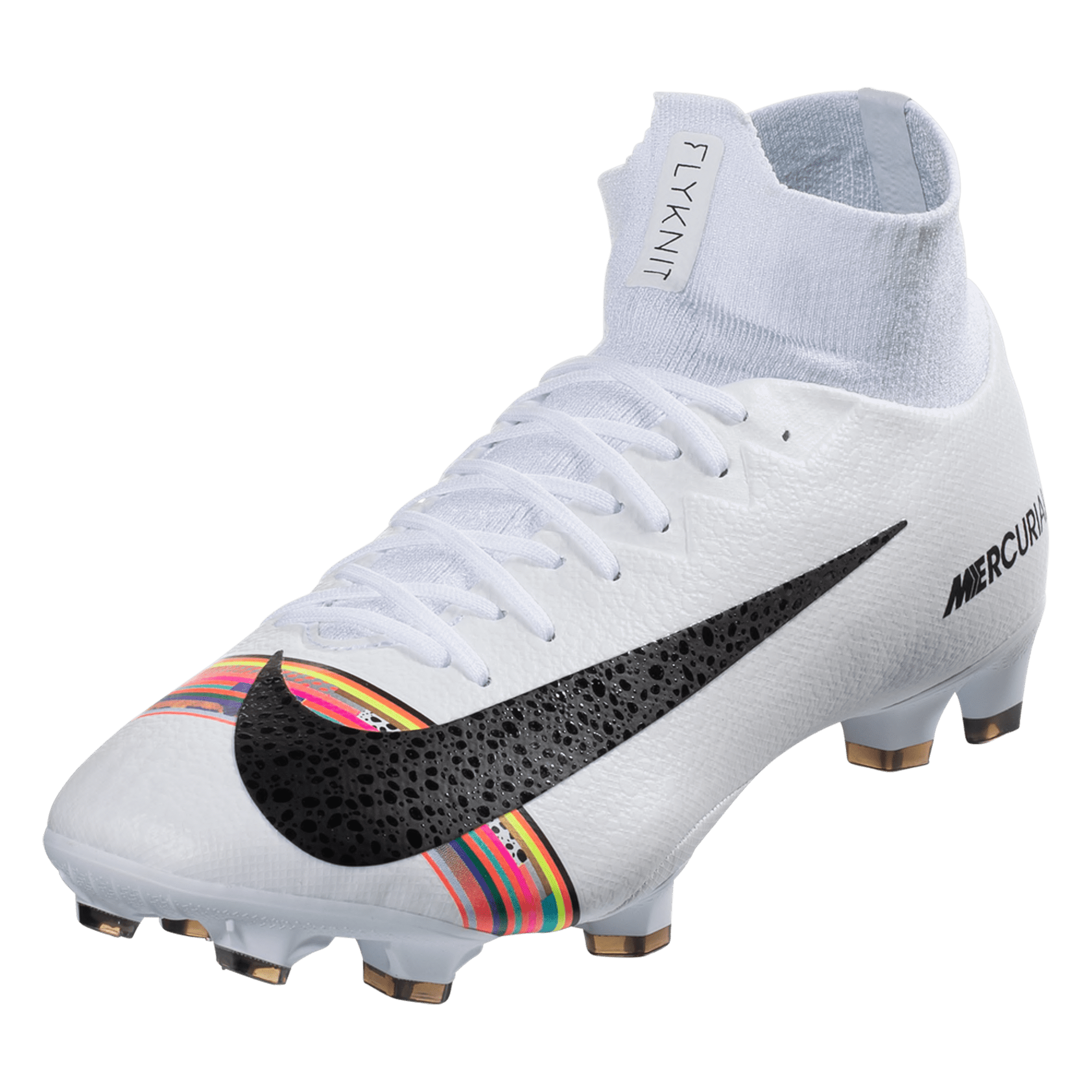 a13c0f69098 Nike Mercurial Superfly VI Pro SE FG Soccer Cleat – Platinum   Black   White