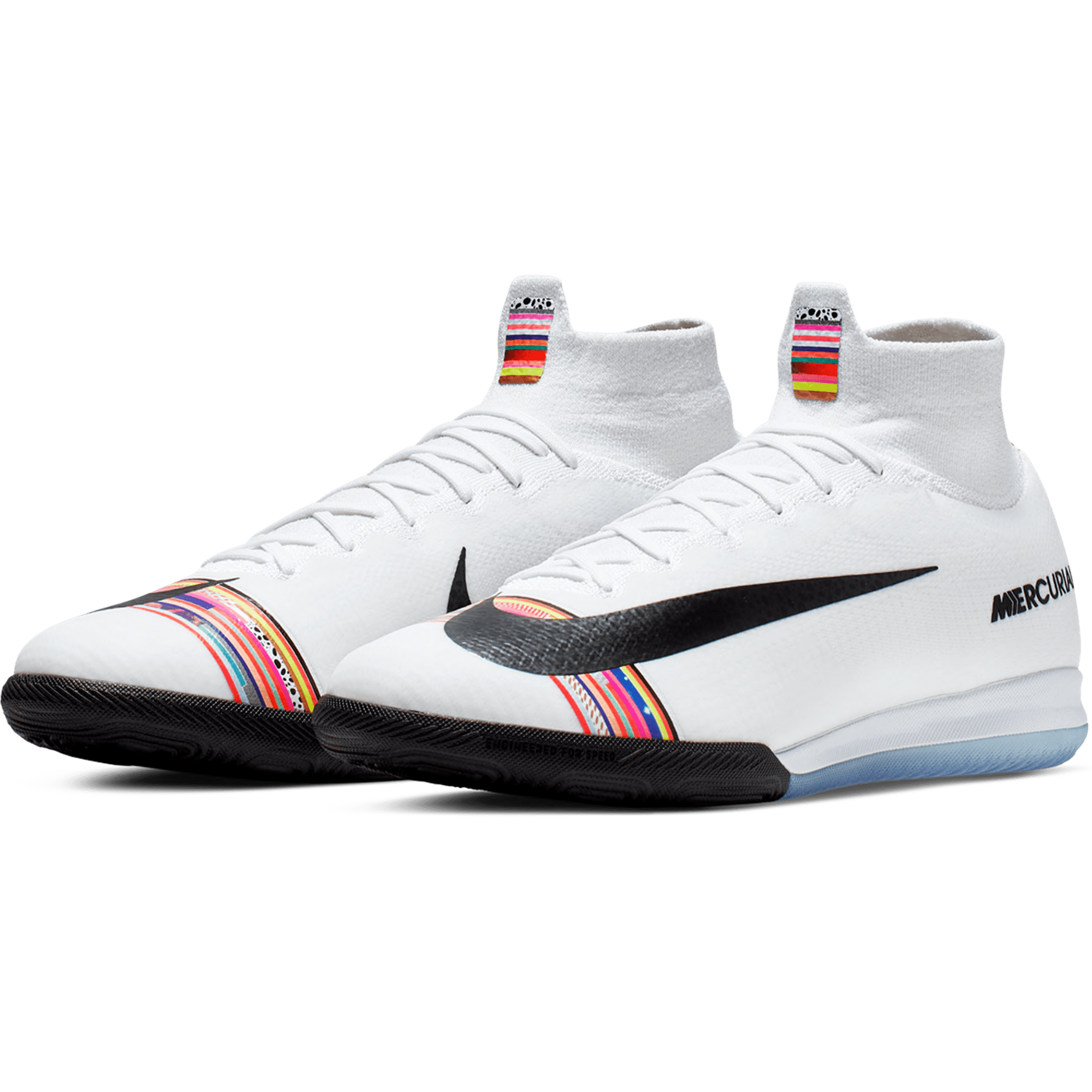 info for a72ab fa941 Nike Mercurial Superfly X VI Elite SE IC Indoor Soccer Shoe – Platinum    Black   White