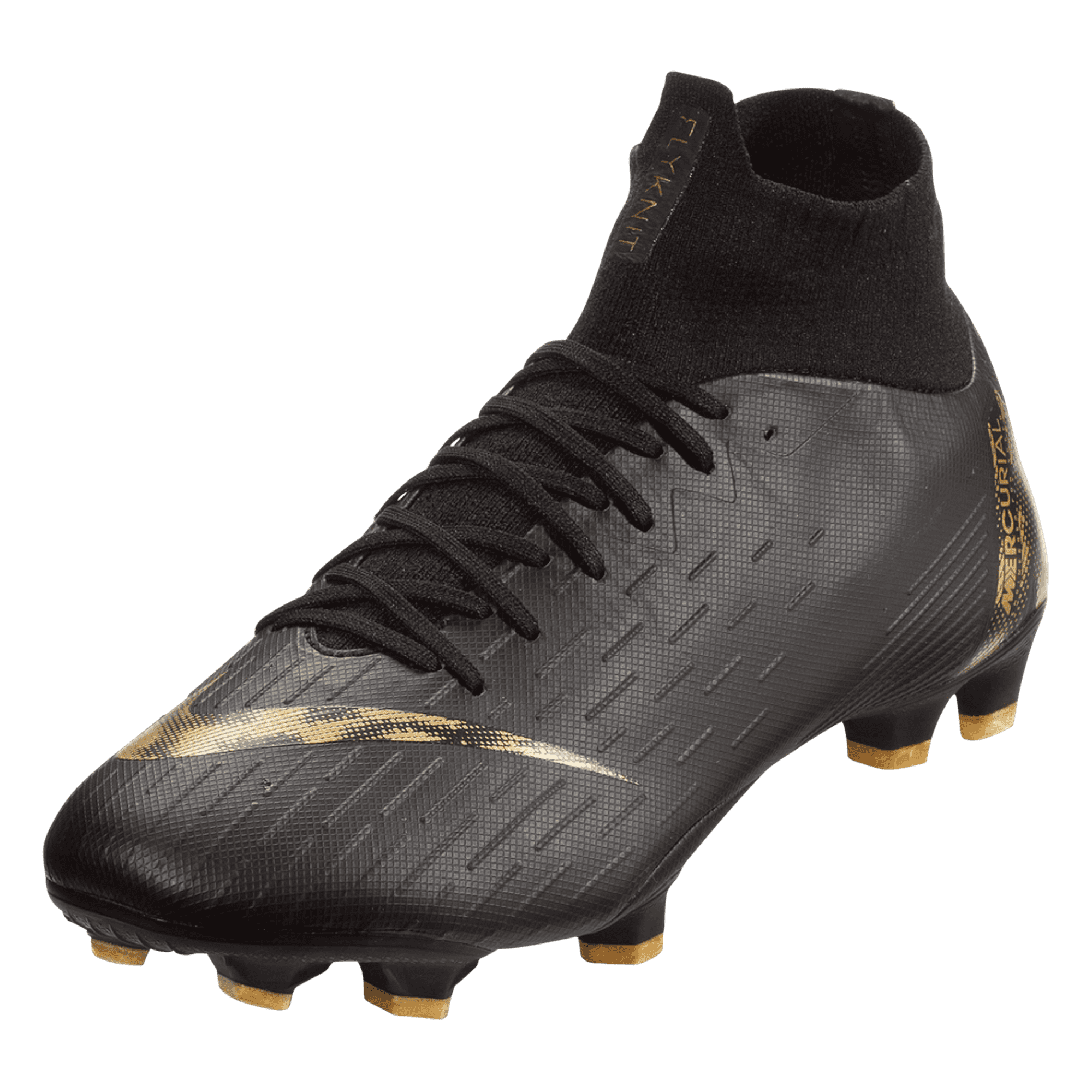 timeless design a3012 ad721 Nike Mercurial Superfly VI Pro FG Soccer Cleat – Black Gold