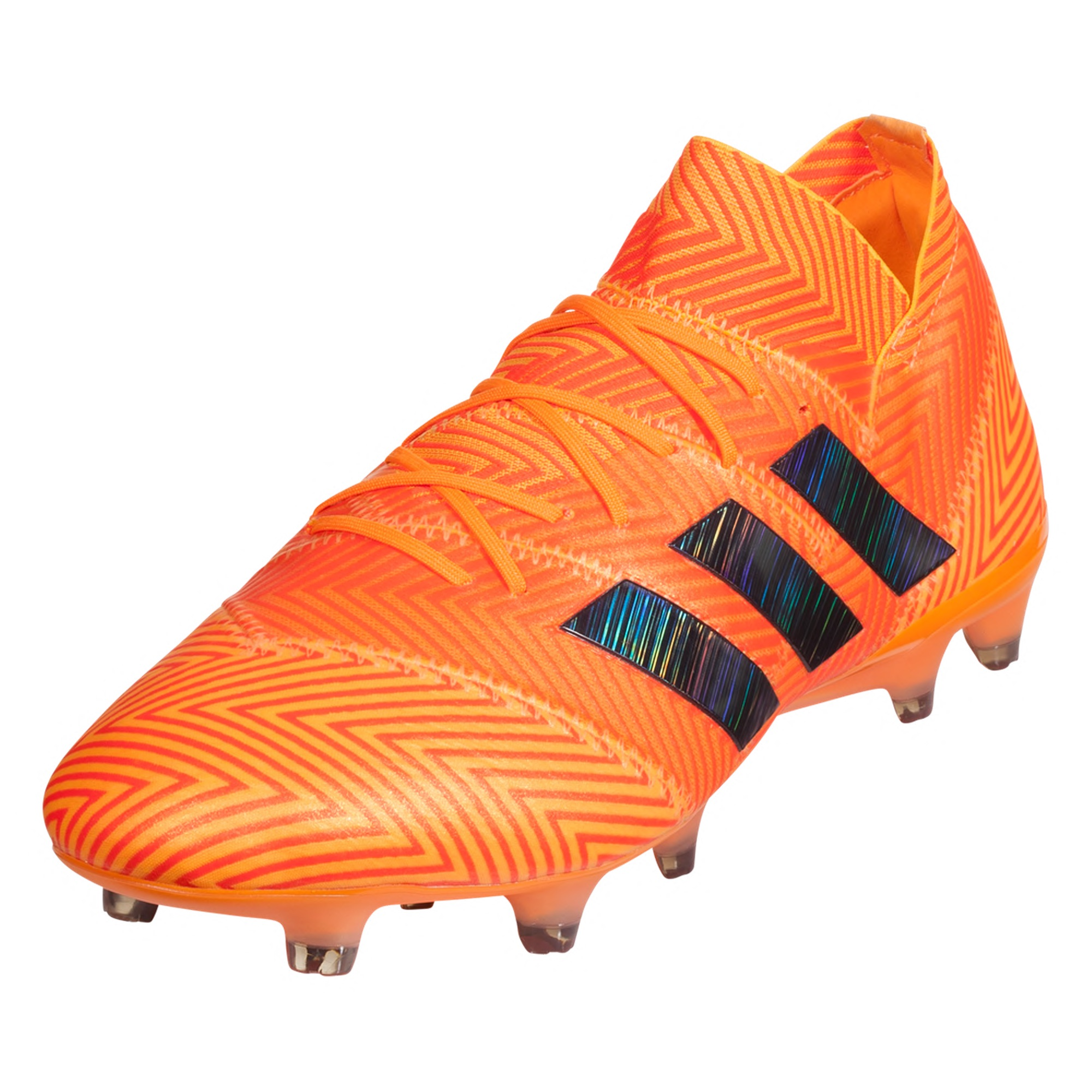 44261694b664 adidas Nemeziz 18.1 FG Soccer Cleats – Zest/Core Black/Solar Red ...