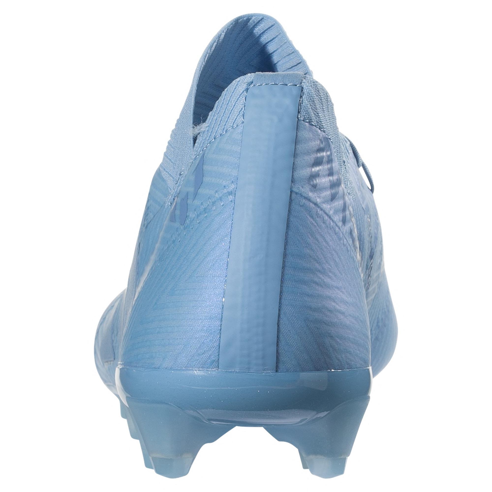 04fb55d45 Home   Brand   Adidas   adidas Nemeziz Messi 18.1 FG Soccer Cleats – Ash  Blue Ash Blue Raw Grey
