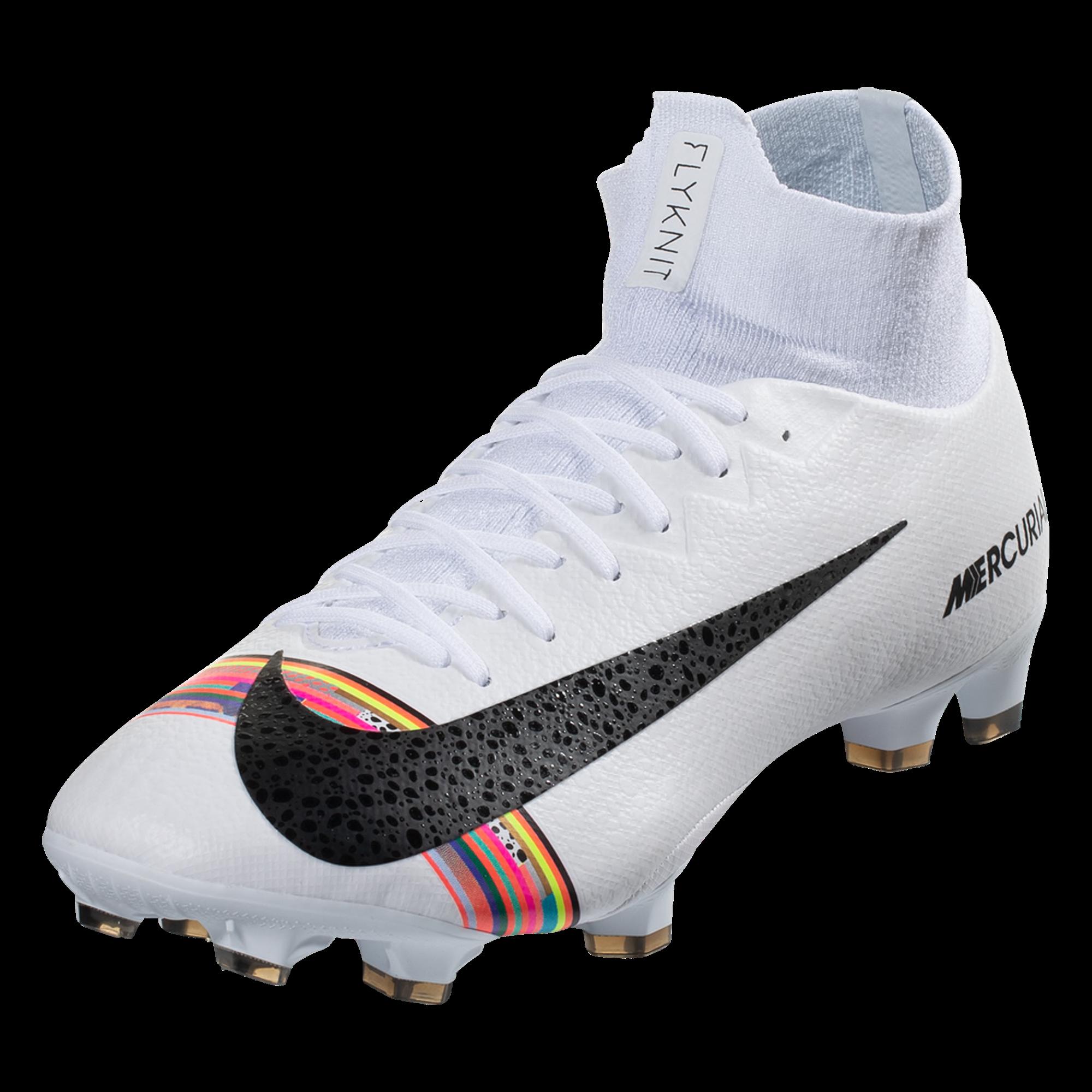 96d4ea45fcdb Nike Mercurial Superfly VI Elite SE FG Soccer Cleat – Platinum/Black/White