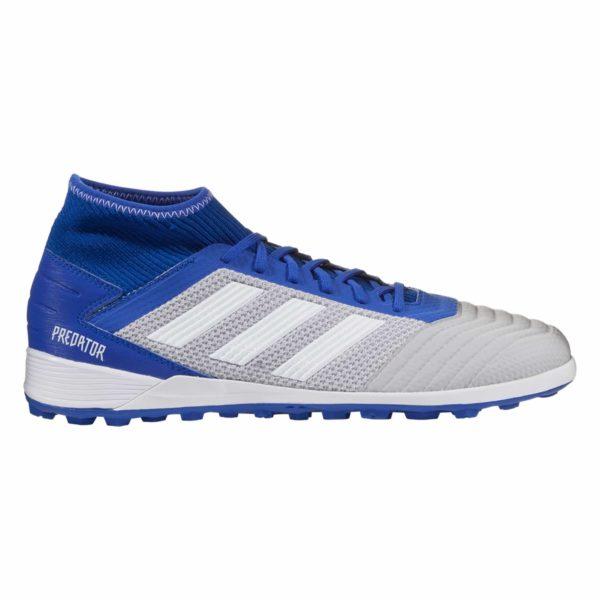 adidas Predator Tango 19.3 TF Artificial Turf Soccer Shoe - Grey/White/Blue