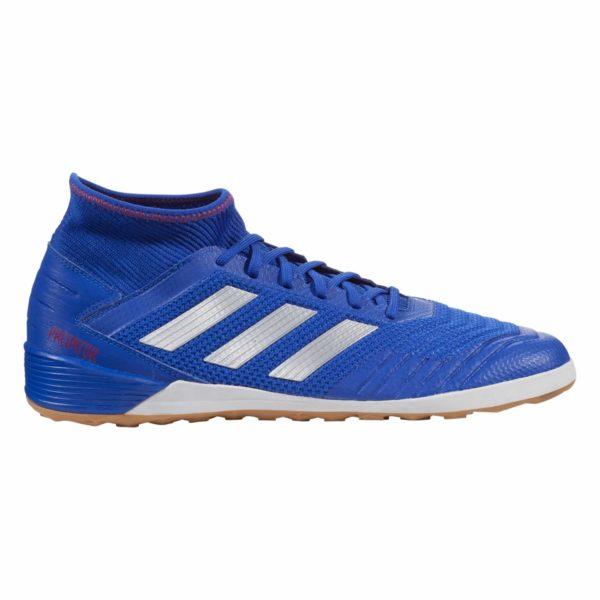 adidas Predator Tango 19.3 IN Indoor Soccer Shoe - Blue/Silver/Red