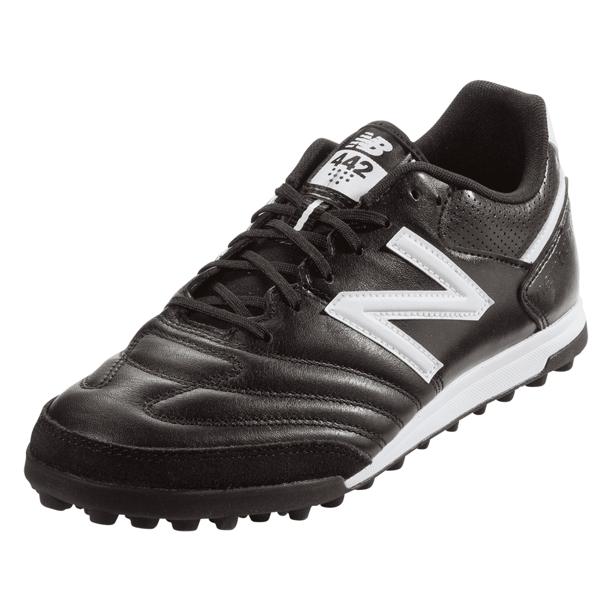 New Balance 442 Team TF Artificial Turf Shoe - Black/White