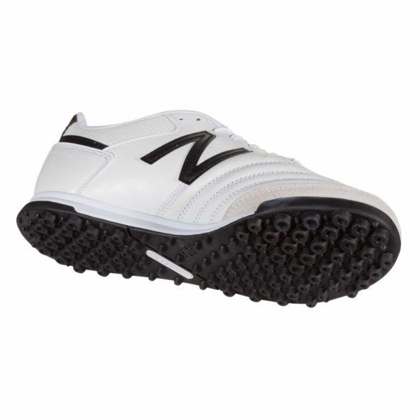 New Balance 442 Team TF Wide Artificial Turf Shoe - White/Black