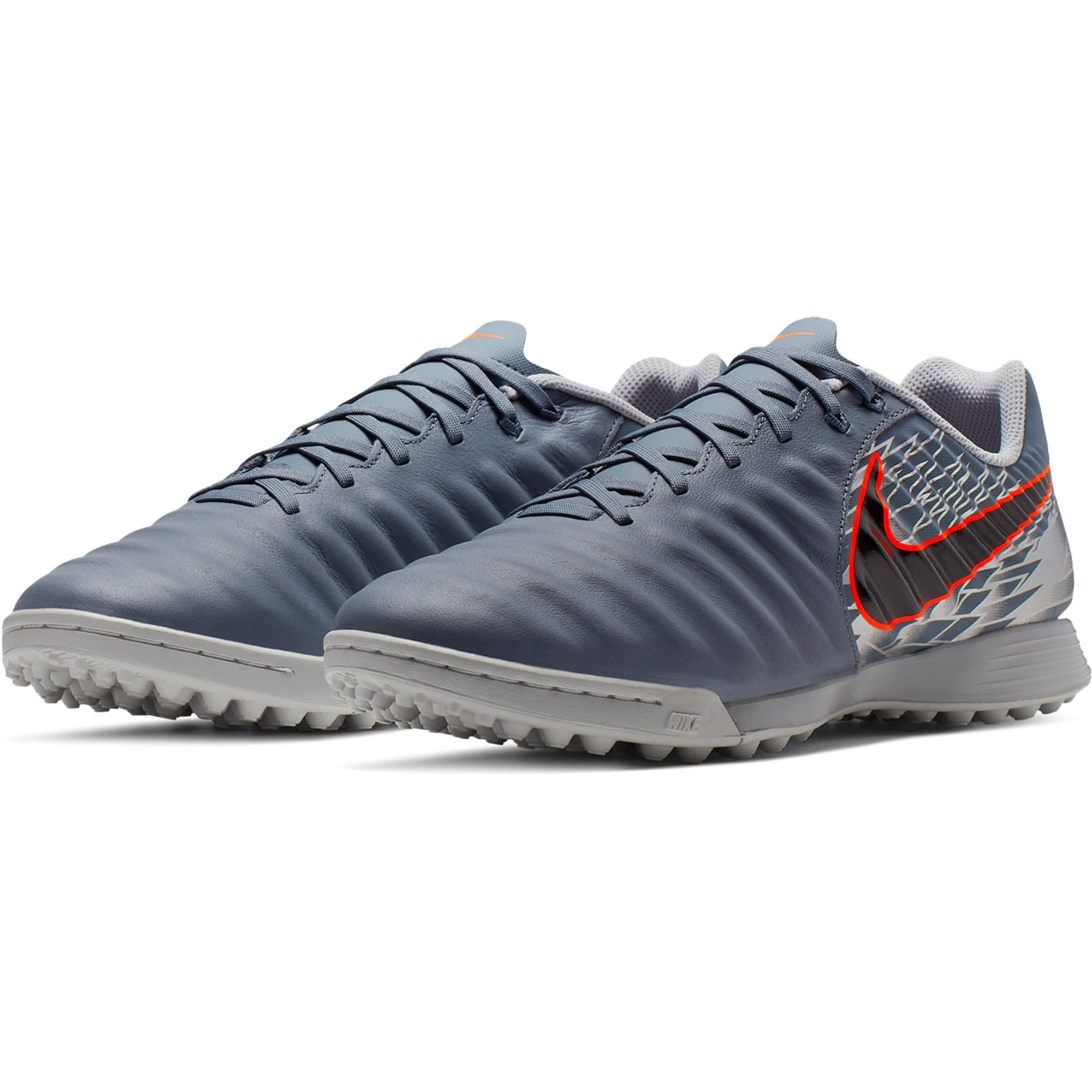 huge discount 2459a a02d2 Nike Tiempo Legend VII Academy TF Soccer Shoe - Armory Blue / Black / Hyper  Crimson / Metallic Silver / Wolf Grey
