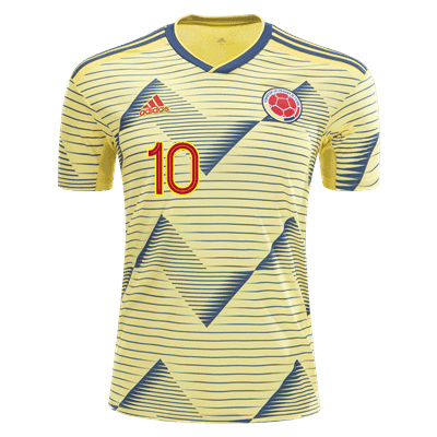 new styles 37745 2a2dd adidas James Rodriguez Colombia Home Jersey 2019