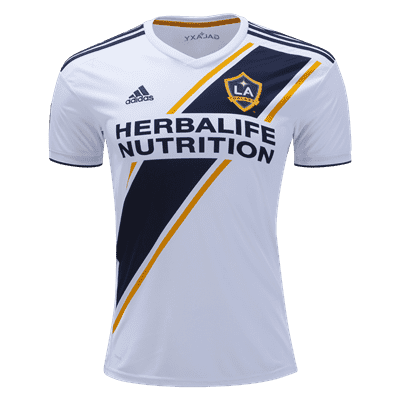 official photos a1560 a1cc2 adidas Zlatan Ibrahimovic LA Galaxy Youth Home Jersey 2019