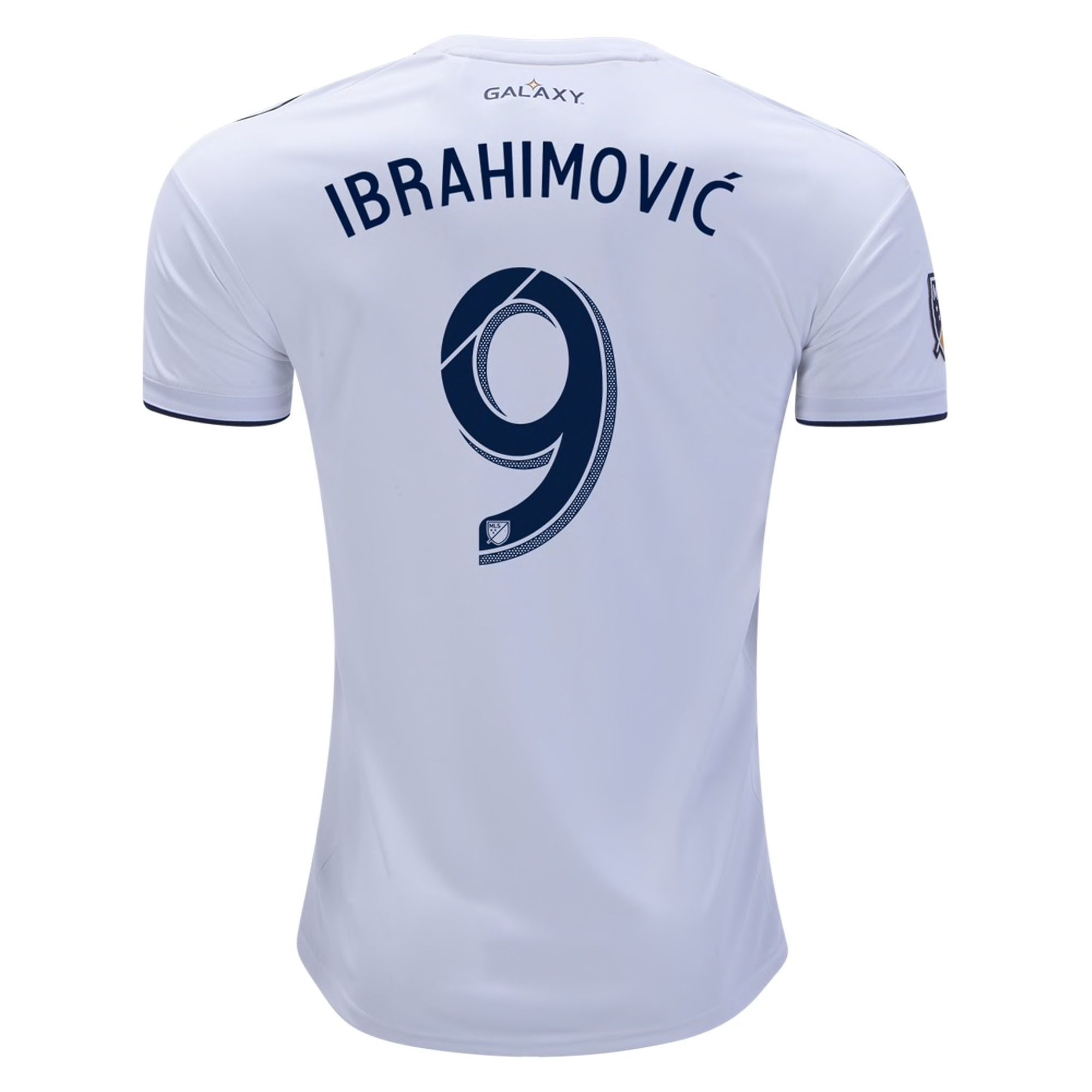 adidas Zlatan Ibrahimovic LA Galaxy Youth Home Jersey 2019