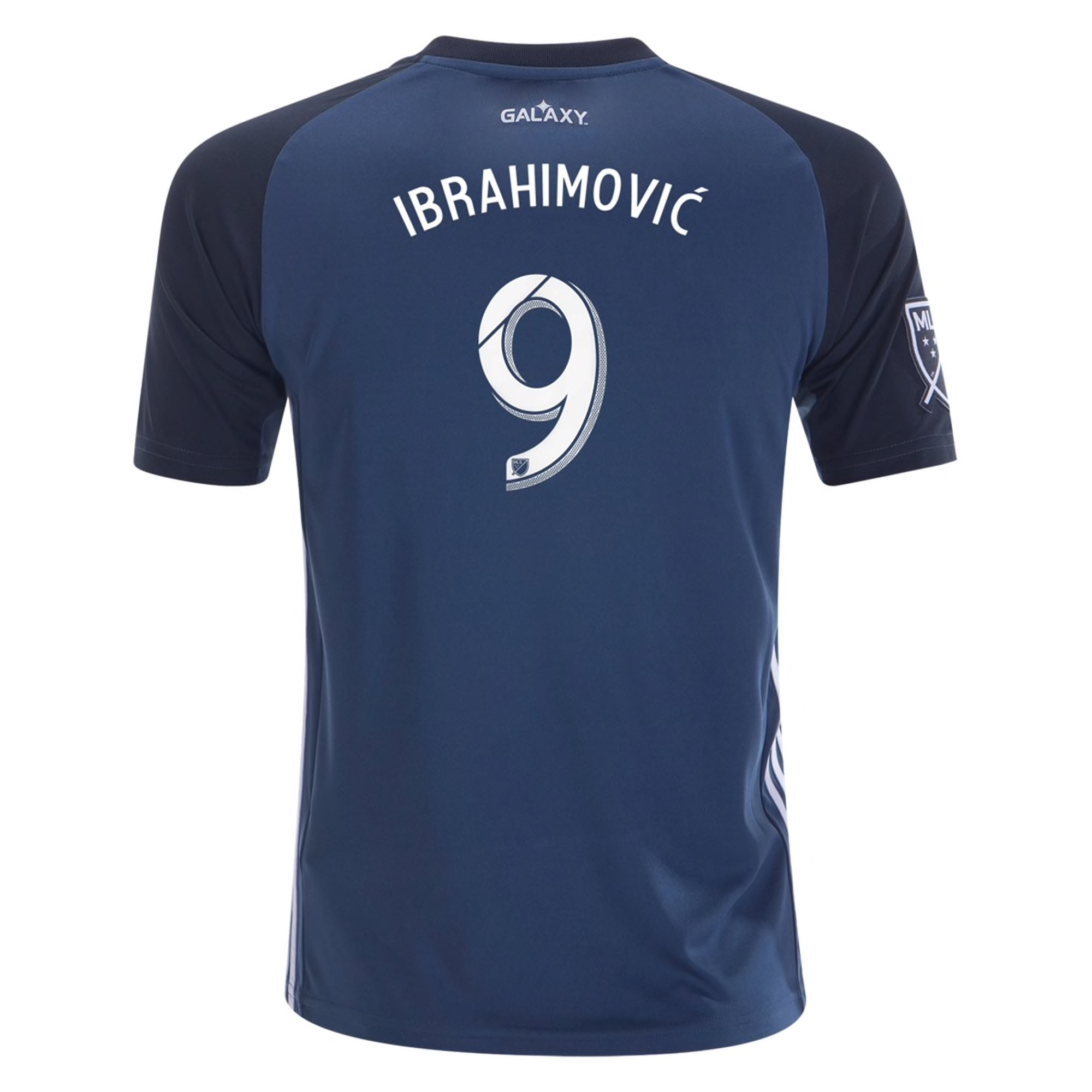adidas Zlatan Ibrahimovic LA Galaxy Away Youth Jersey 2019