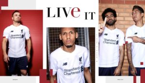 New LiverPool Away Jersey
