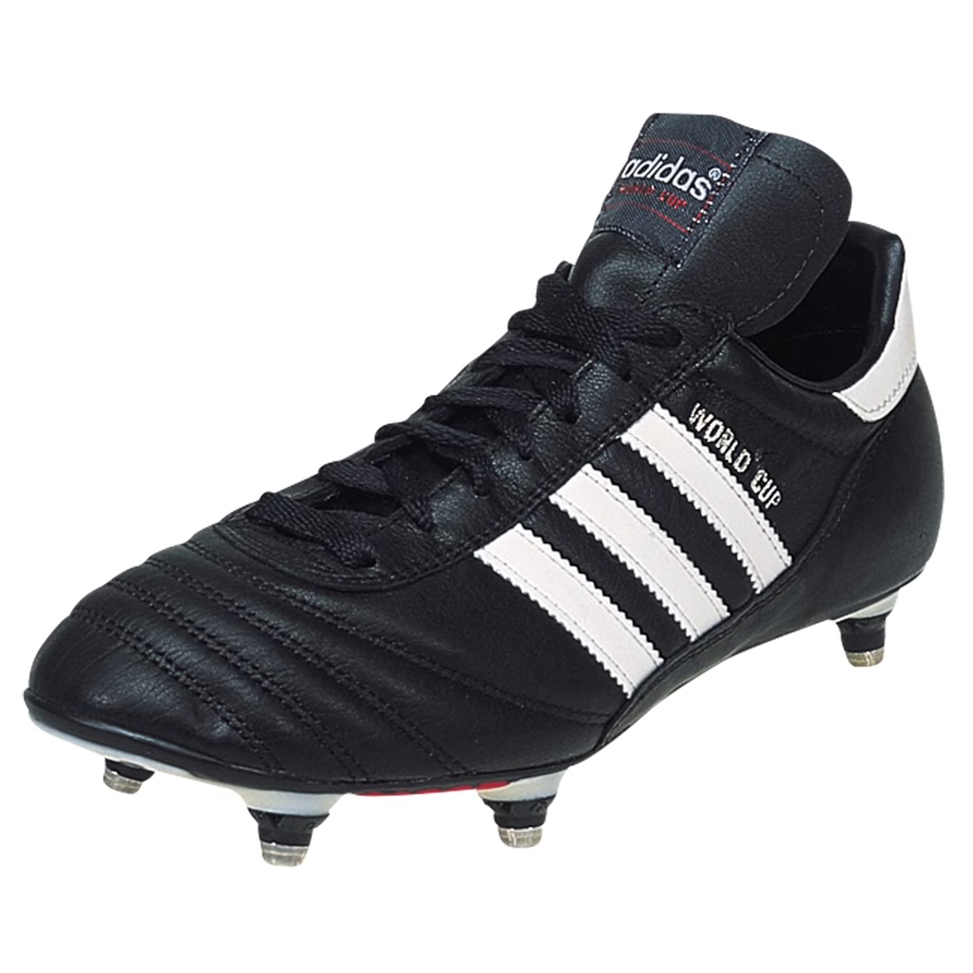 adidas World Cup Soft Ground Soccer Cleat - Black/White