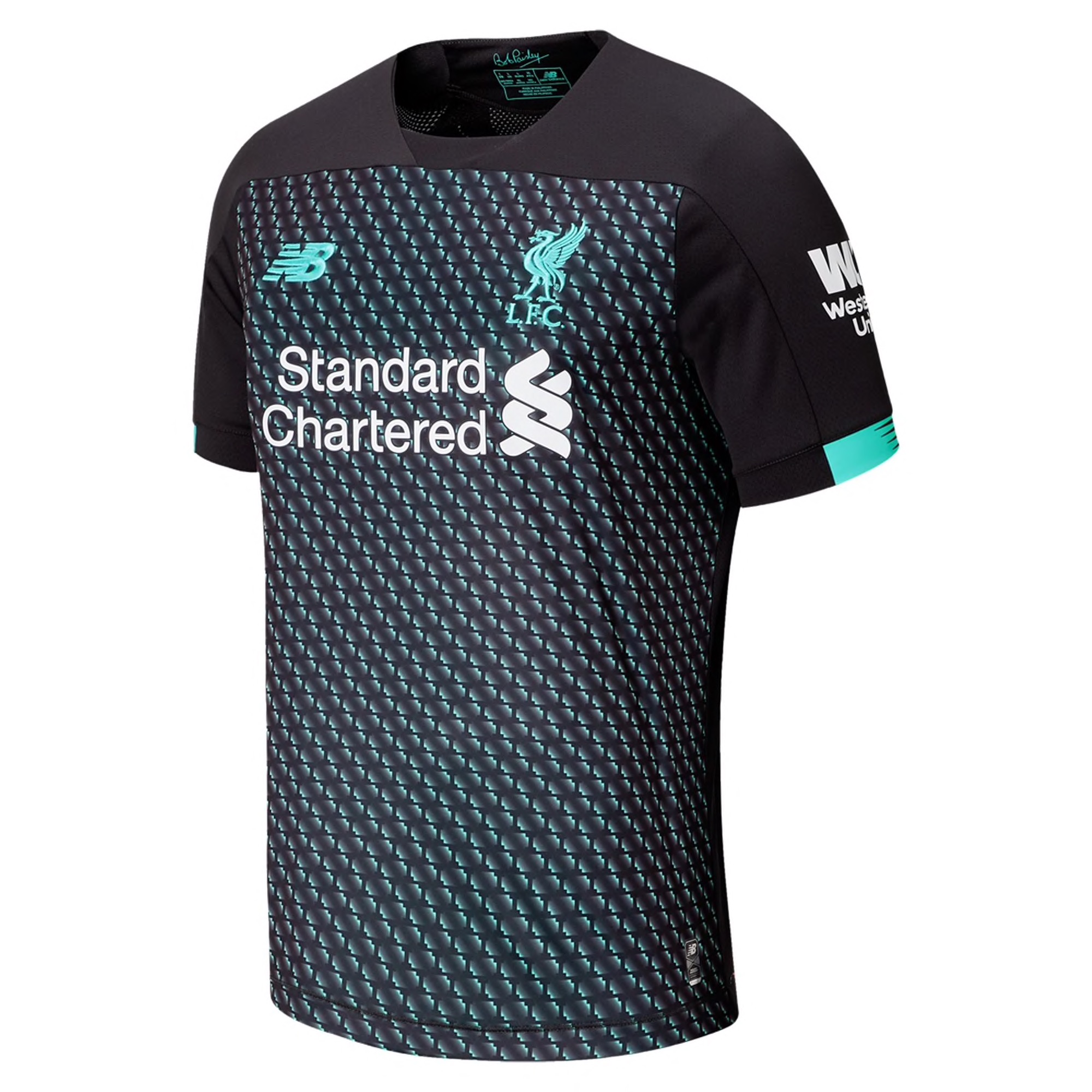 New Balance Liverpool Third Jersey 19/20