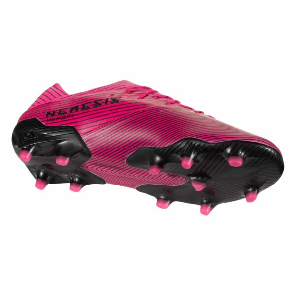 adidas Nemeziz 19.1 FG JR Soccer Cleats - Shock Pink / White / Black