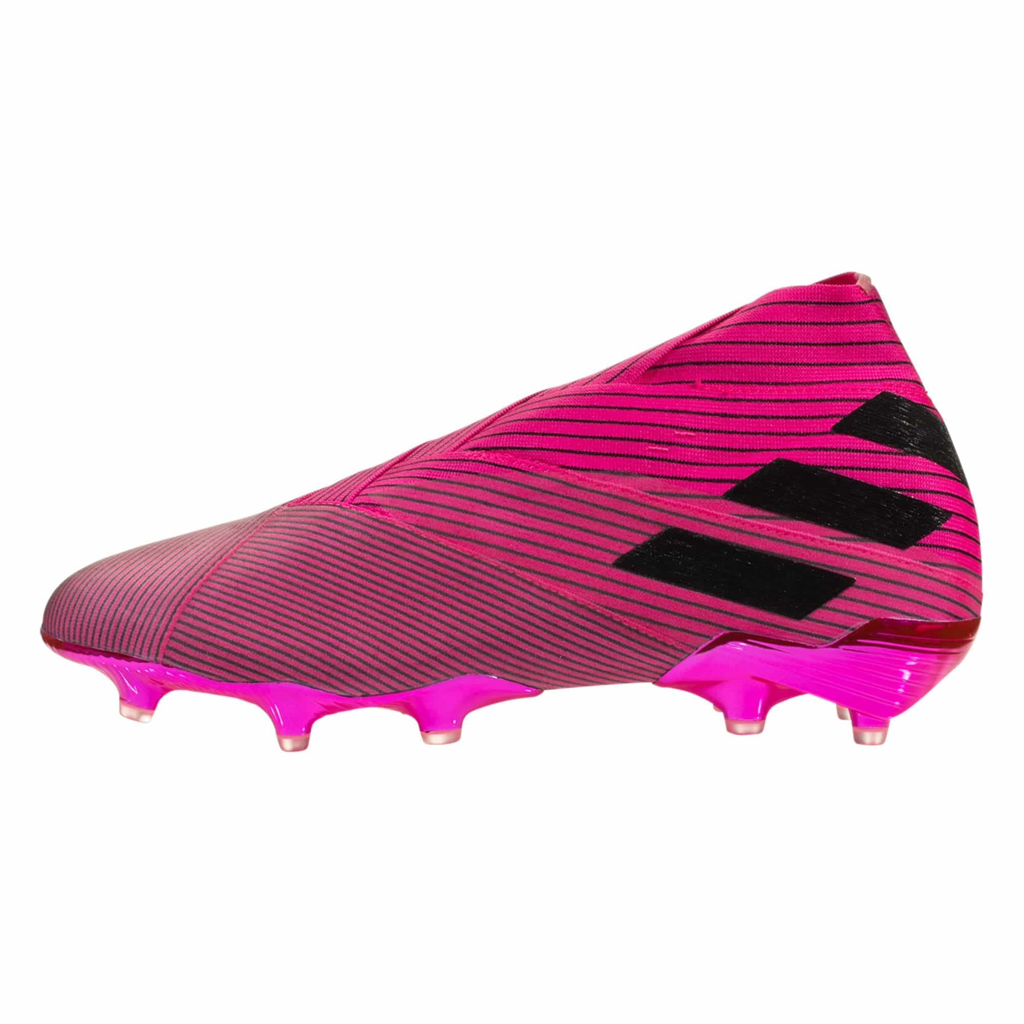 adidas Nemeziz 19+ FG Soccer Cleat - Shock Pink / White / Black