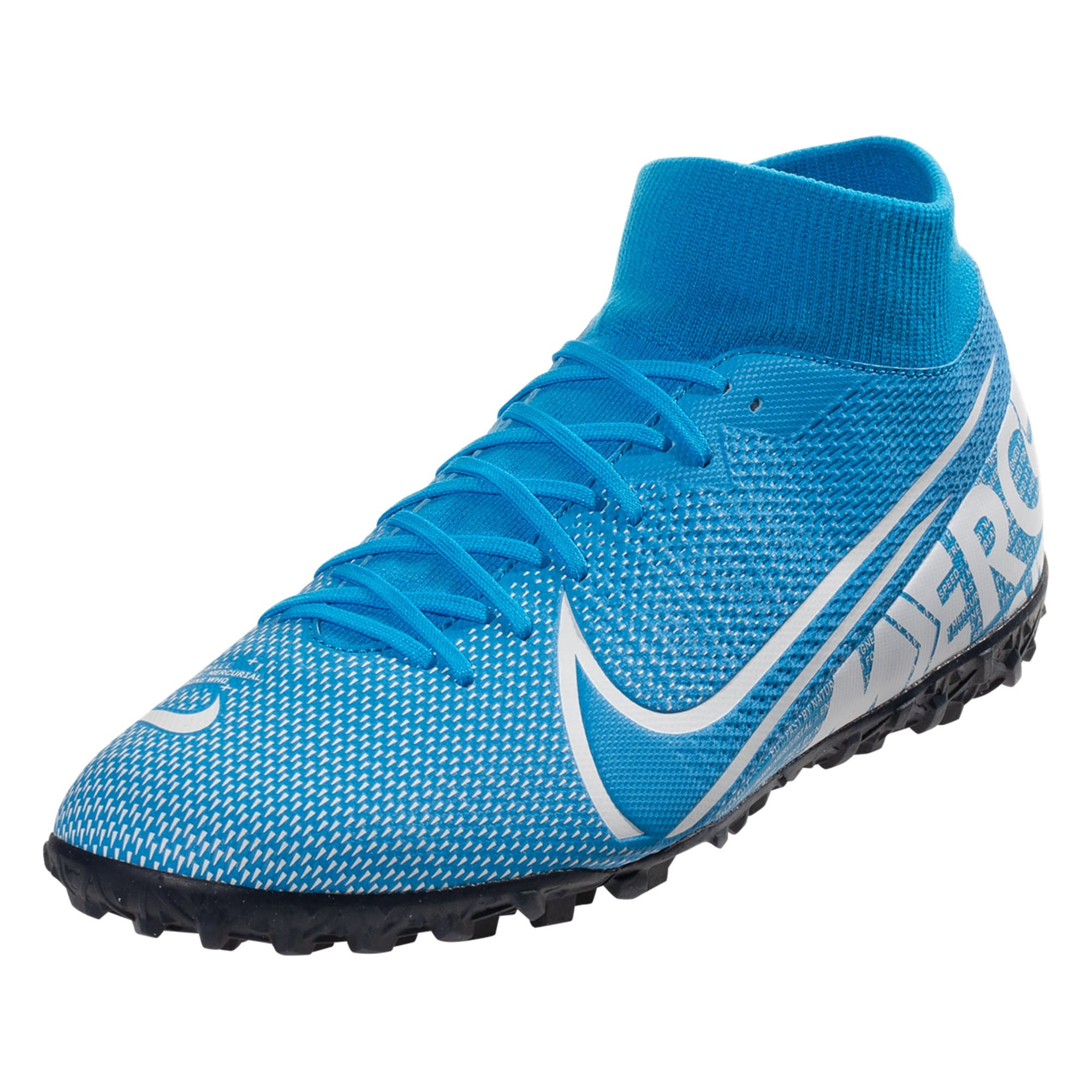 Nike Mercurial Superfly 7 Academy TF Soccer Shoe - Blue Hero / White / Obsidia