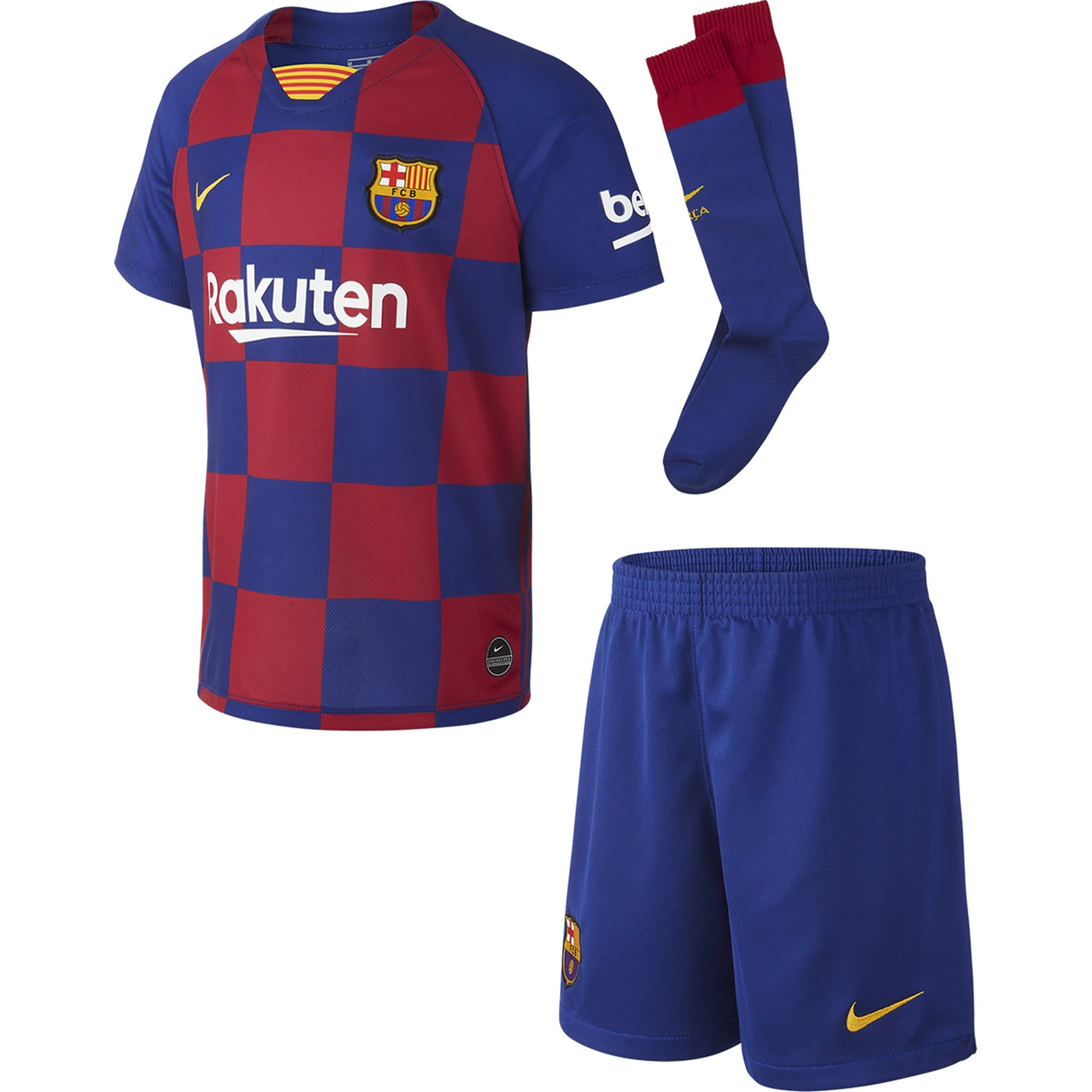 Nike Barcelona Kids Home Kit 19/20