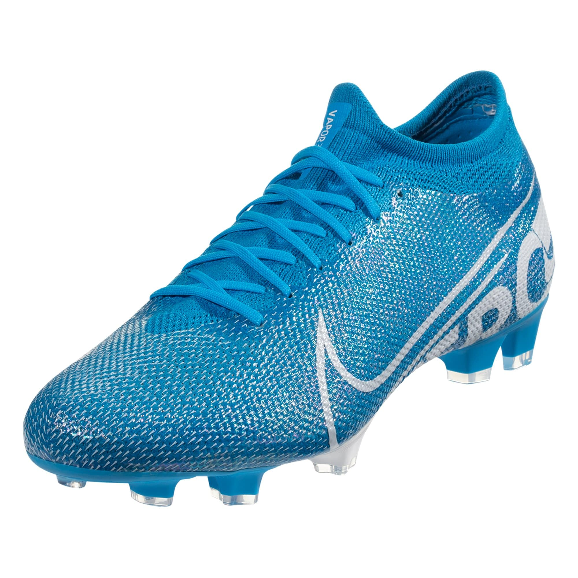 Nike Mercurial Vapor 13 Pro FG Soccer Cleat - Blue Hero / White /Obsidian