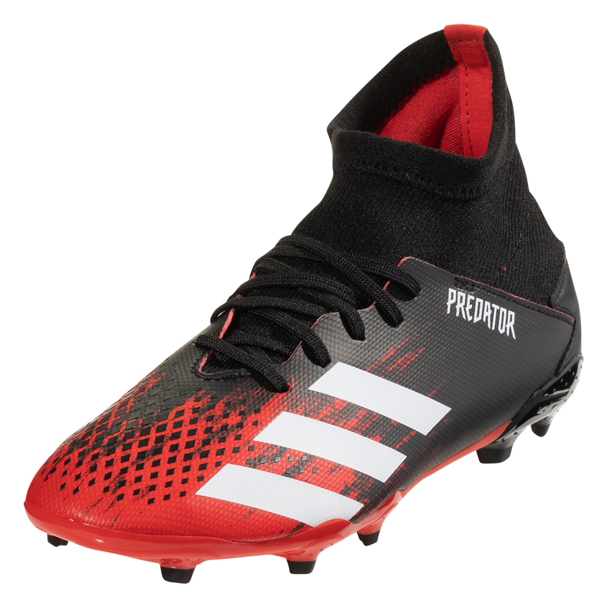 adidas Predator 20.3 FG Junior Soccer Cleat - Red / White / Black