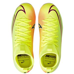 Nike Junior Mercurial Superfly 7 Academy MDS FG/MG - Lemon Venom/Black/Aurora Green