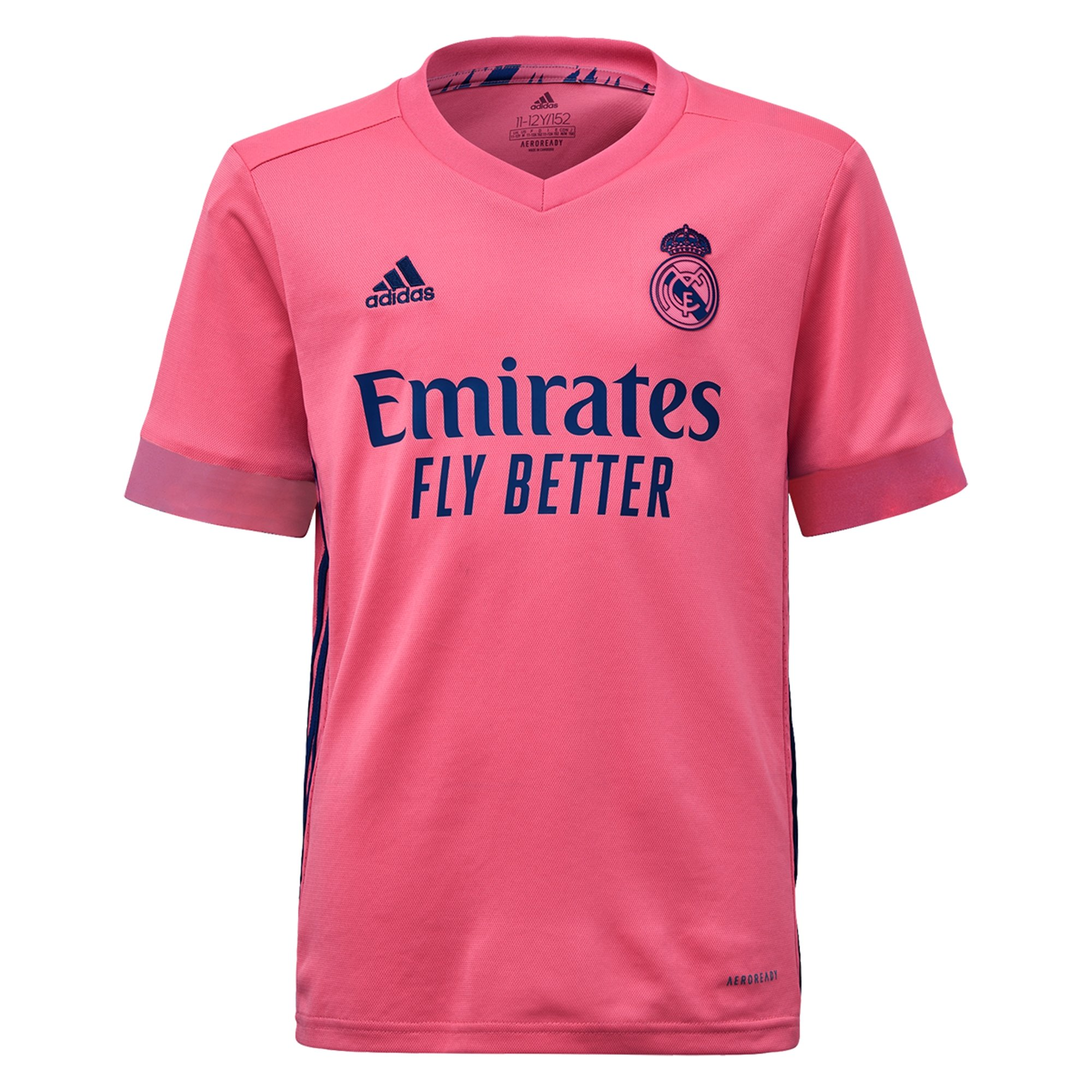 adidas Youth Real Madrid Away Jersey 20/21