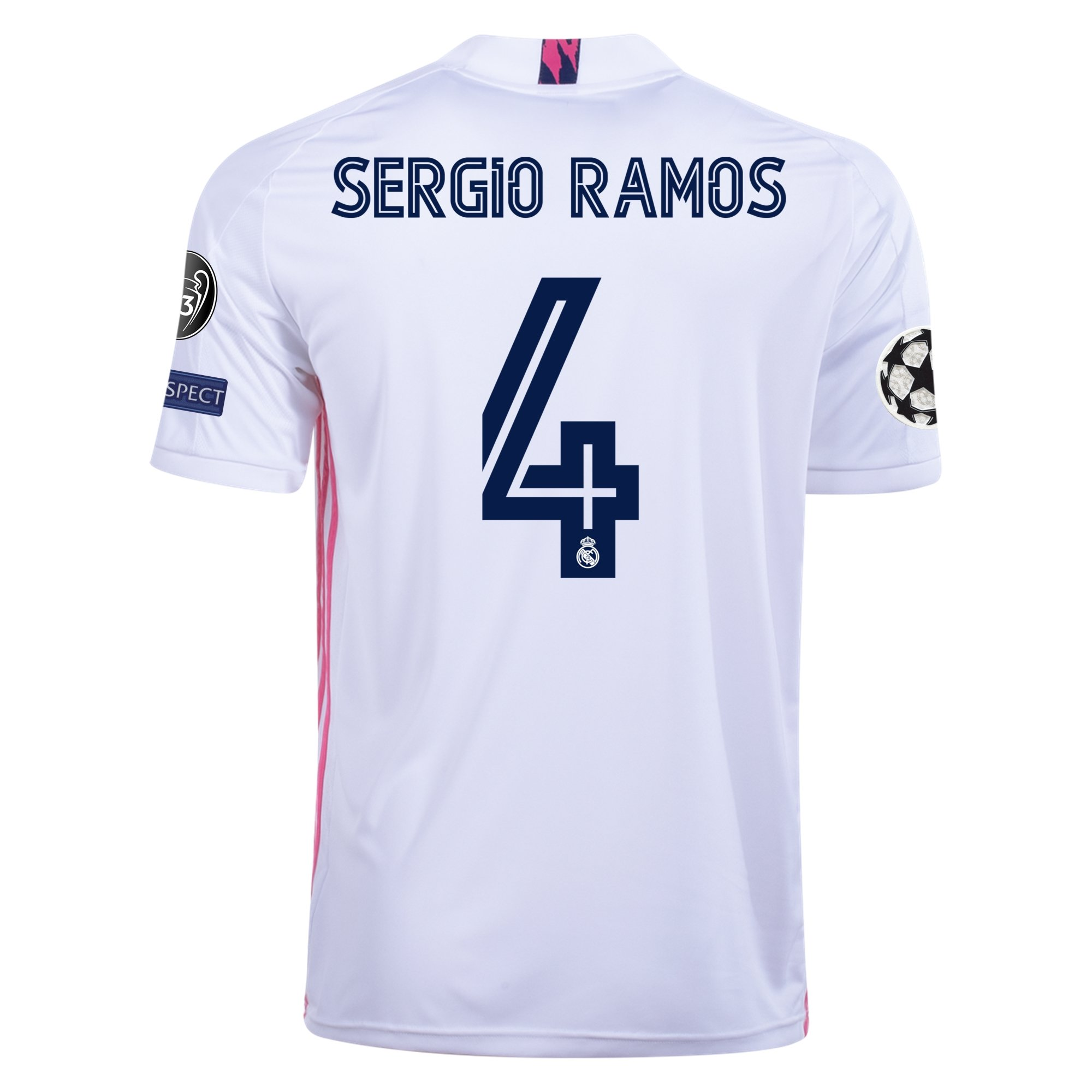 adidas Replica Sergio Ramos Real Madrid Home Jersey 20/21
