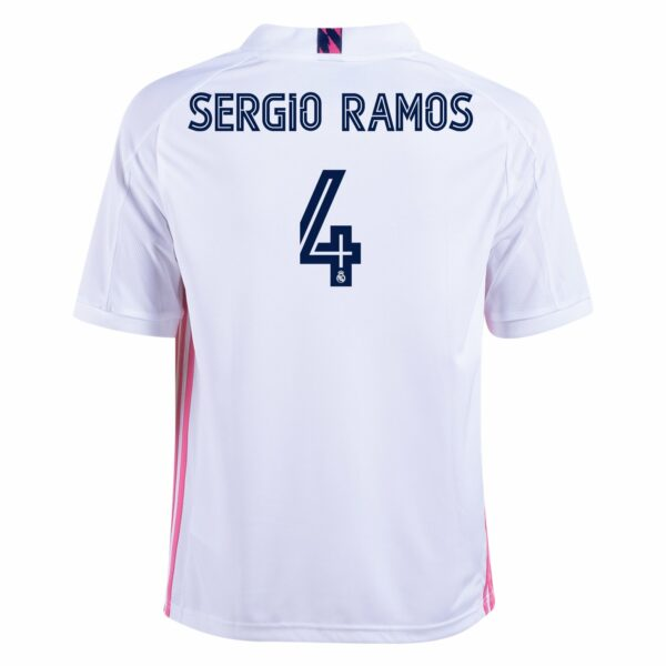 adidas Sergio Ramos Real Madrid Youth Home Jersey 20/21