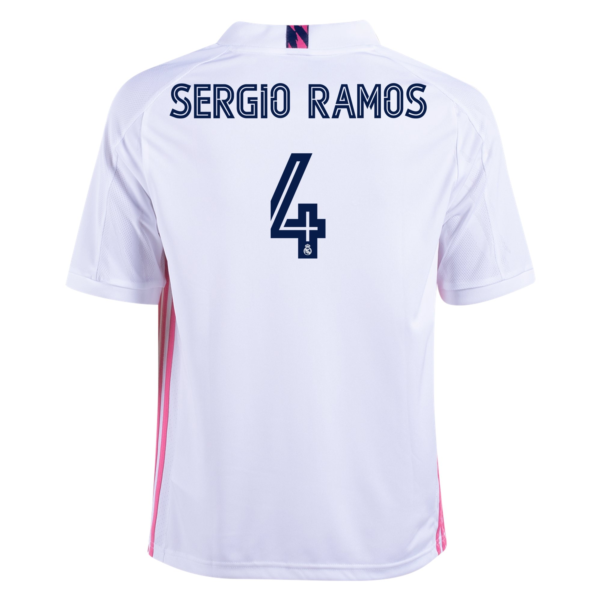 adidas Replica Sergio Ramos Real Madrid Youth Home Jersey 20/21