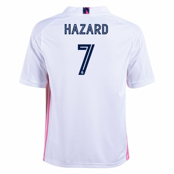 adidas Eden Hazard Real Madrid Youth Home Jersey 20/21
