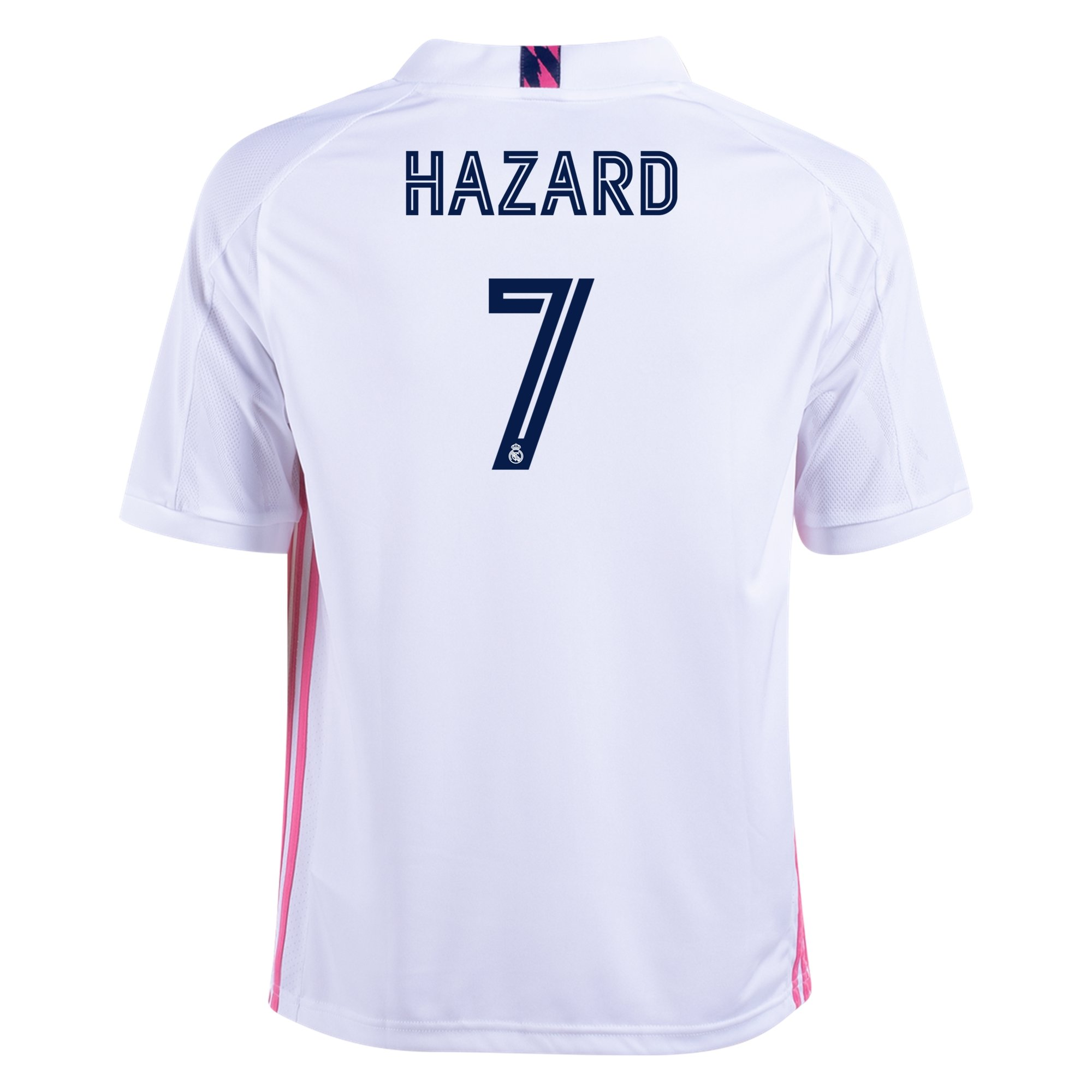 adidas Replica Eden Hazard Real Madrid Youth Home Jersey 20/21