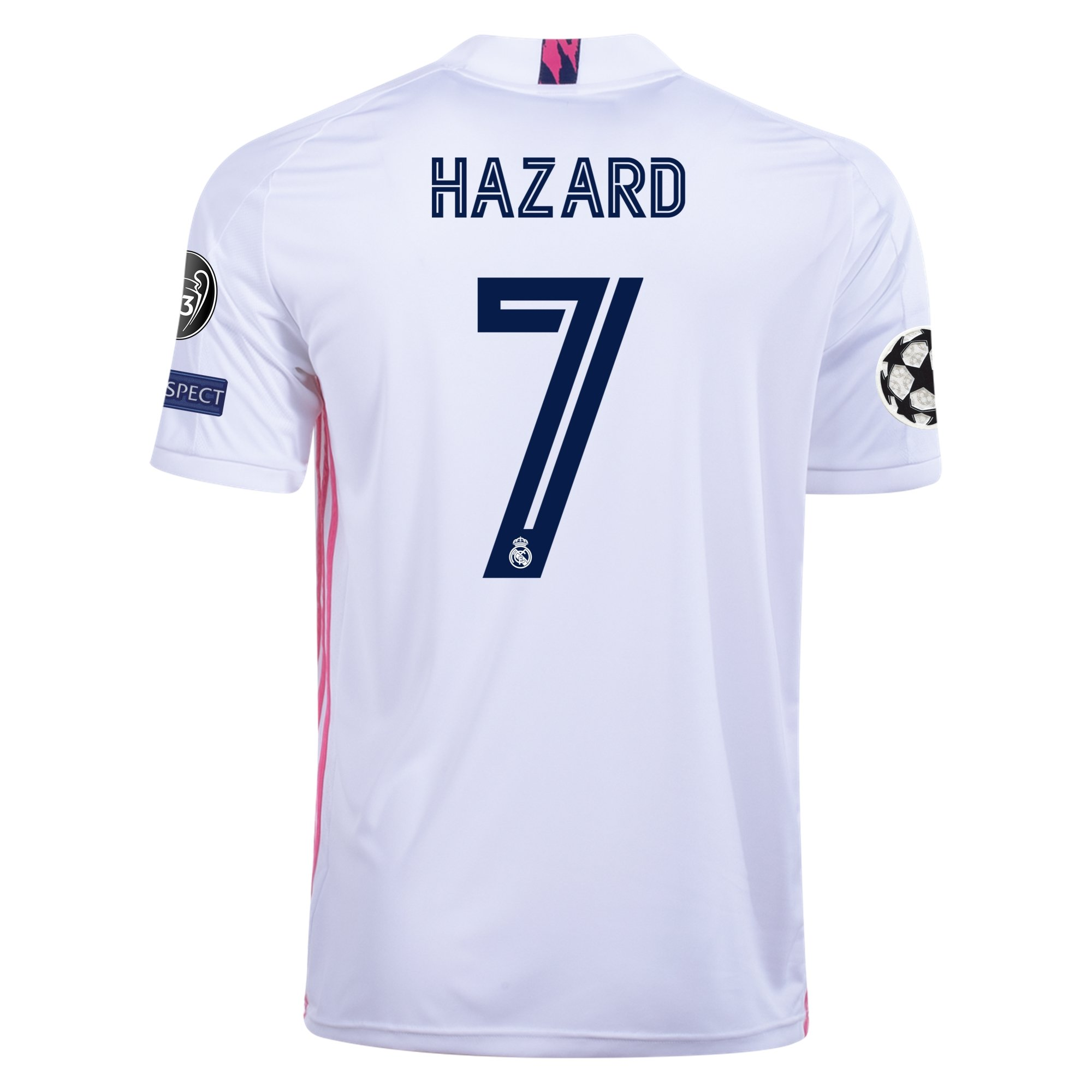 adidas Replica Eden Hazard Real Madrid Home Jersey 20/21