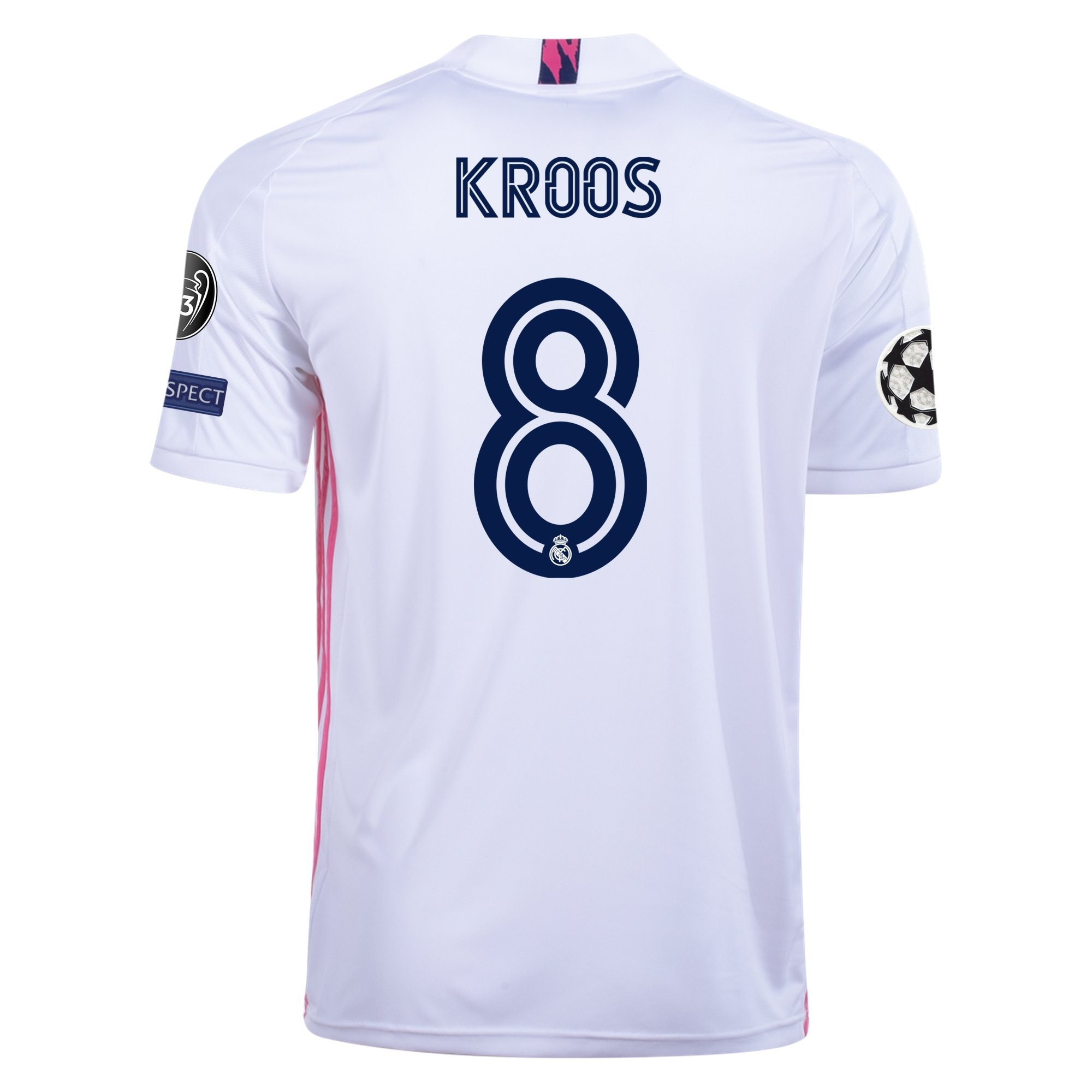 adidas Replica Toni Kroos Real Madrid Home Jersey 20/21