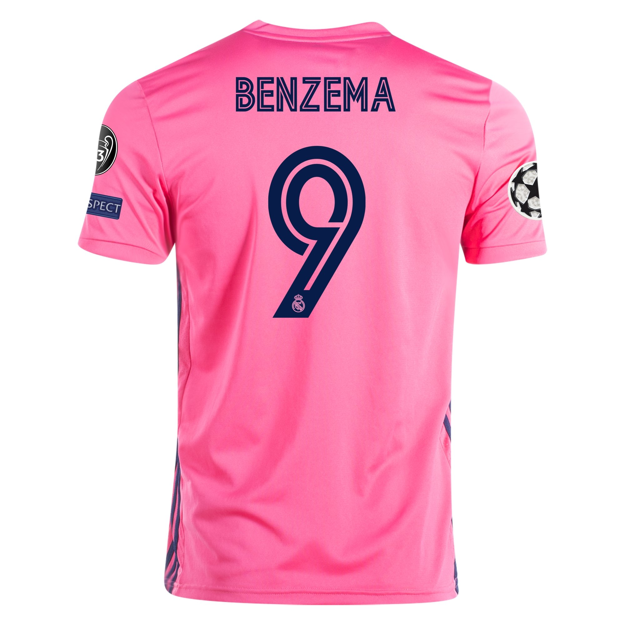 adidas Replica Karim Benzema Real Madrid Away Jersey 20/21