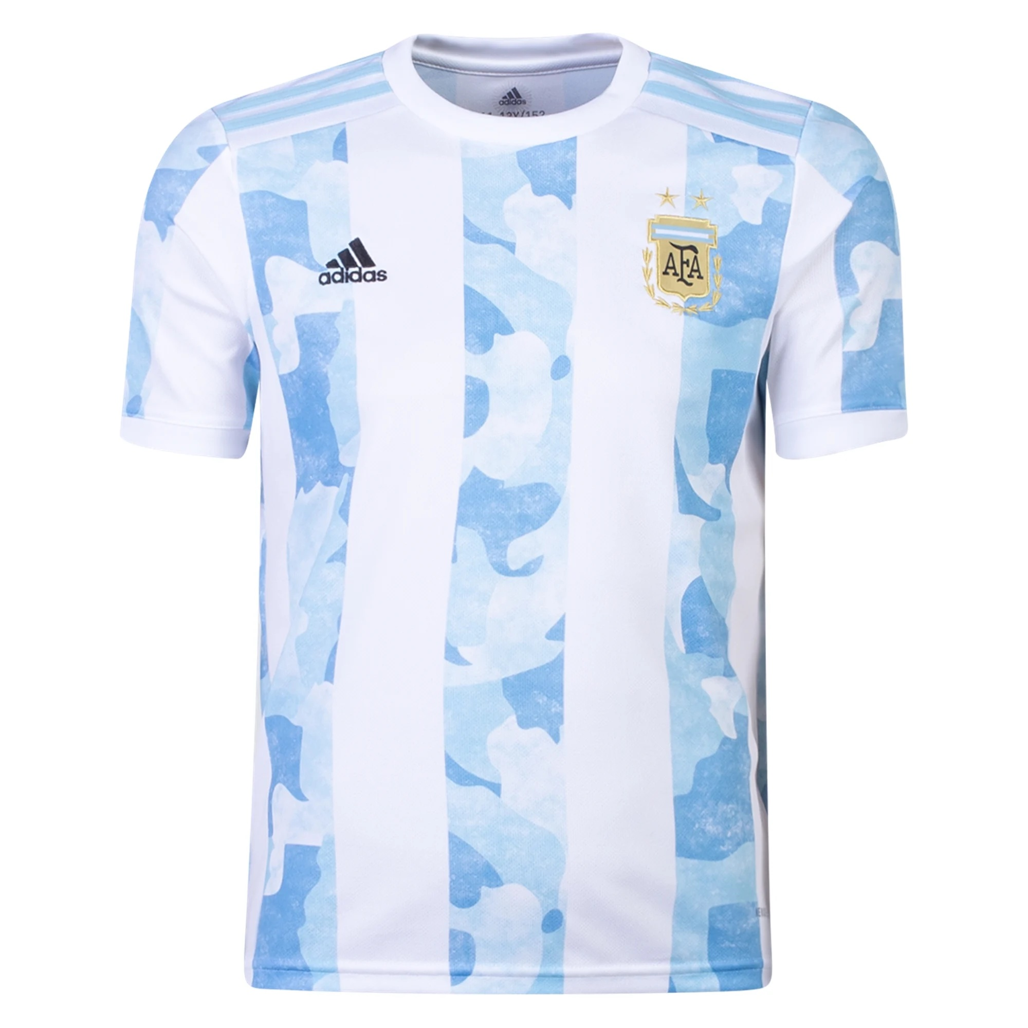 adidas Argentina Youth Home Jersey 2021/22