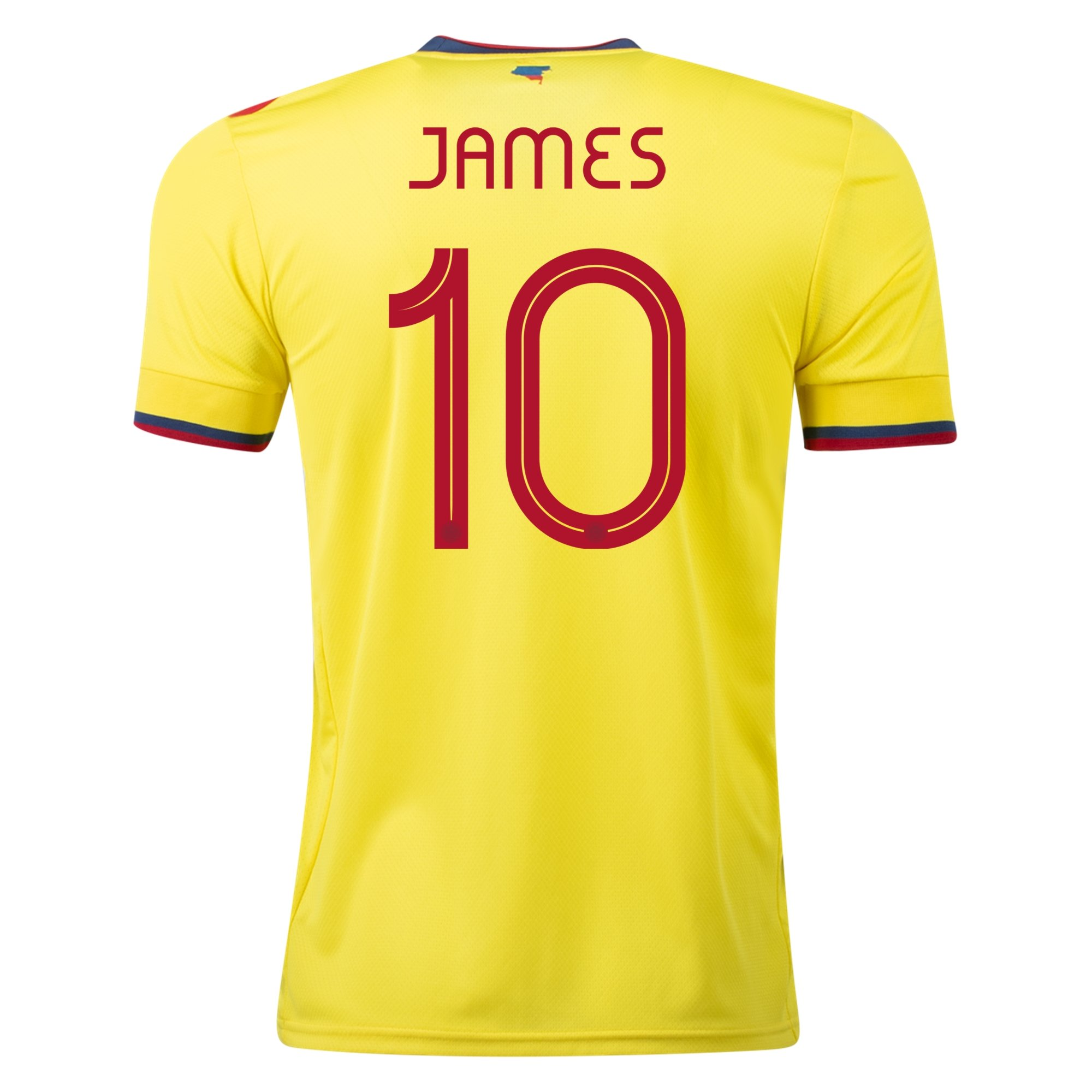 adidas James Rodriguez Colombia Home Jersey 2021/22