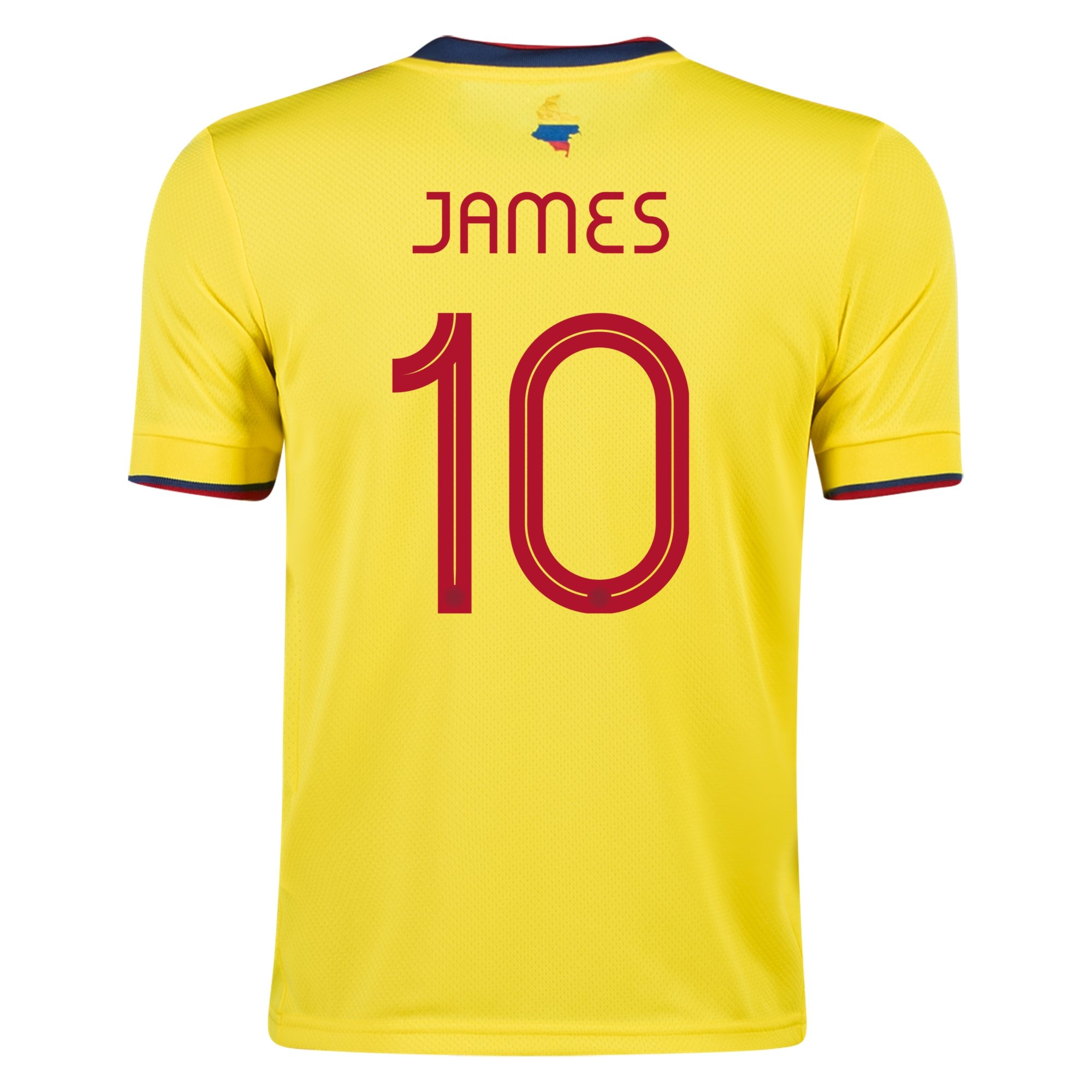 adidas James Rodriguez Colombia Youth Home Jersey 2021/22