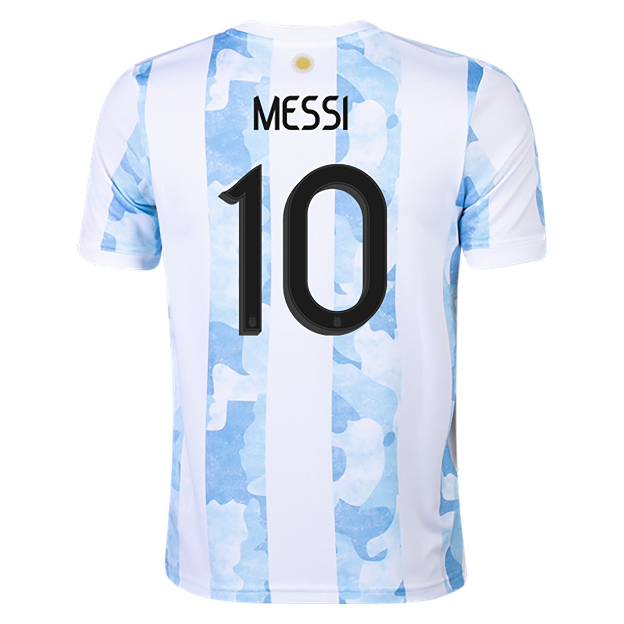 adidas Argentina Lionel Messi Youth Home Jersey 2021/22