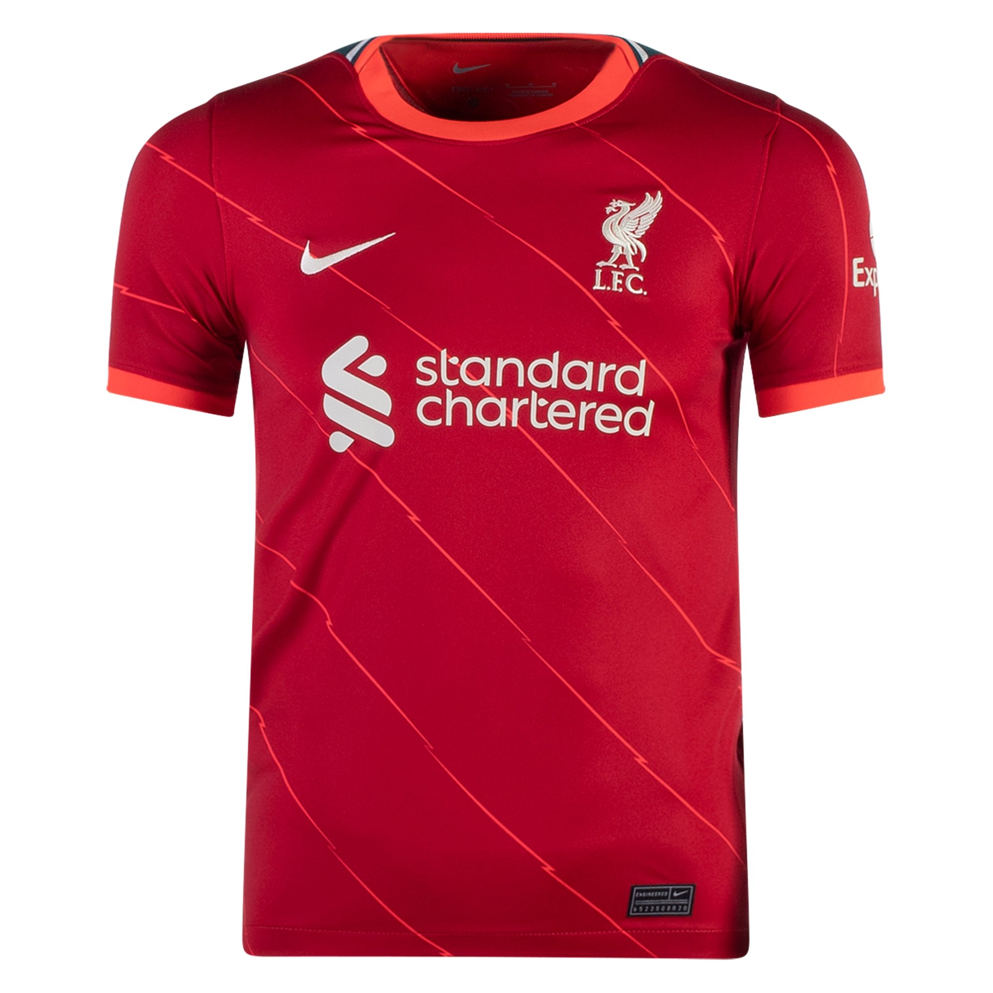 Nike Liverpool Youth Home Jersey 21/22