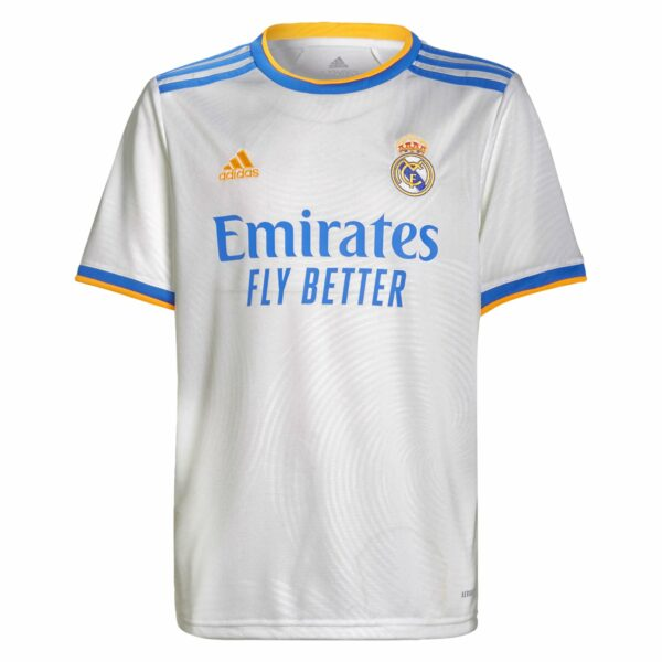 adidas Real Madrid Youth Home Jersey 21/22
