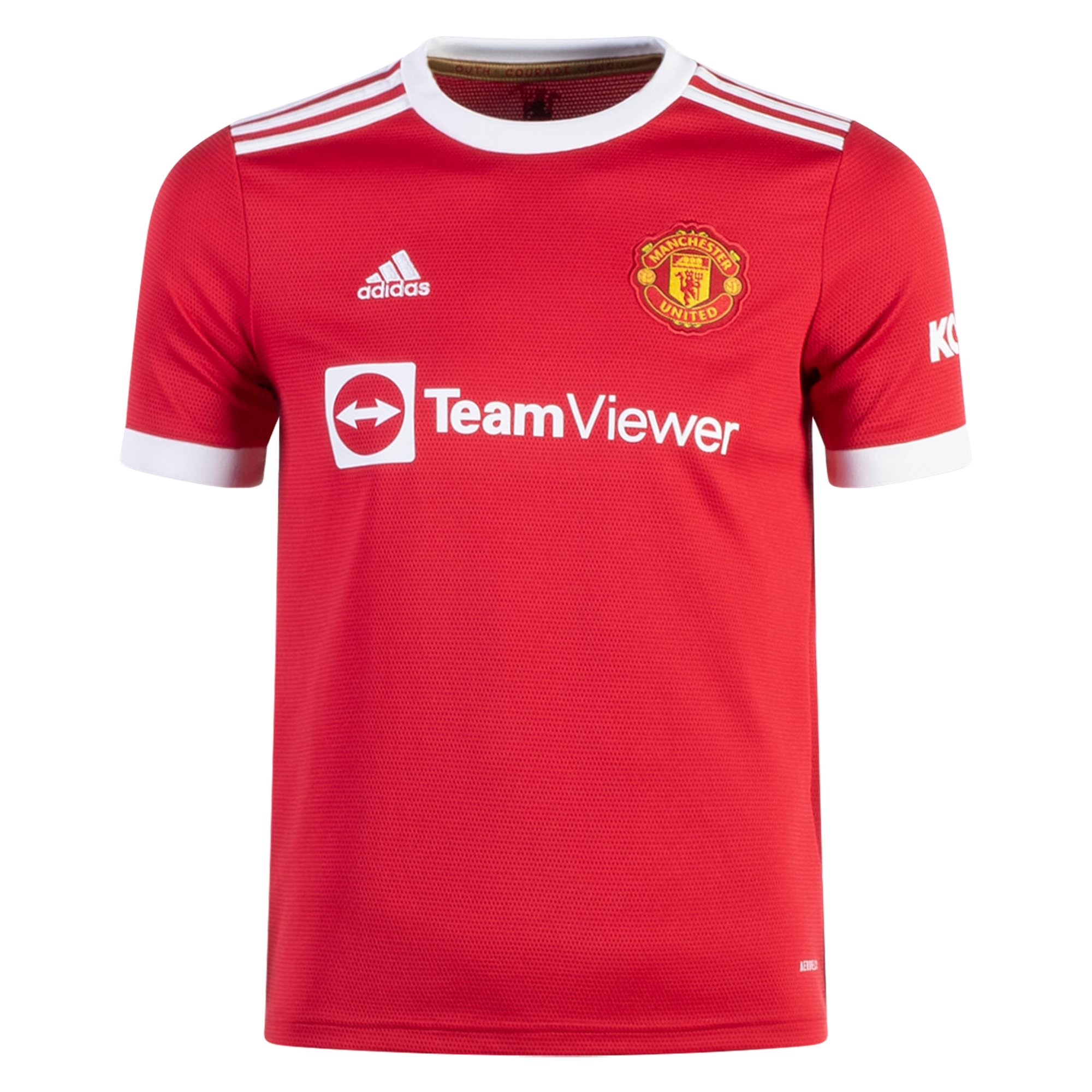 adidas Manchester United Youth Home Jersey 21/22